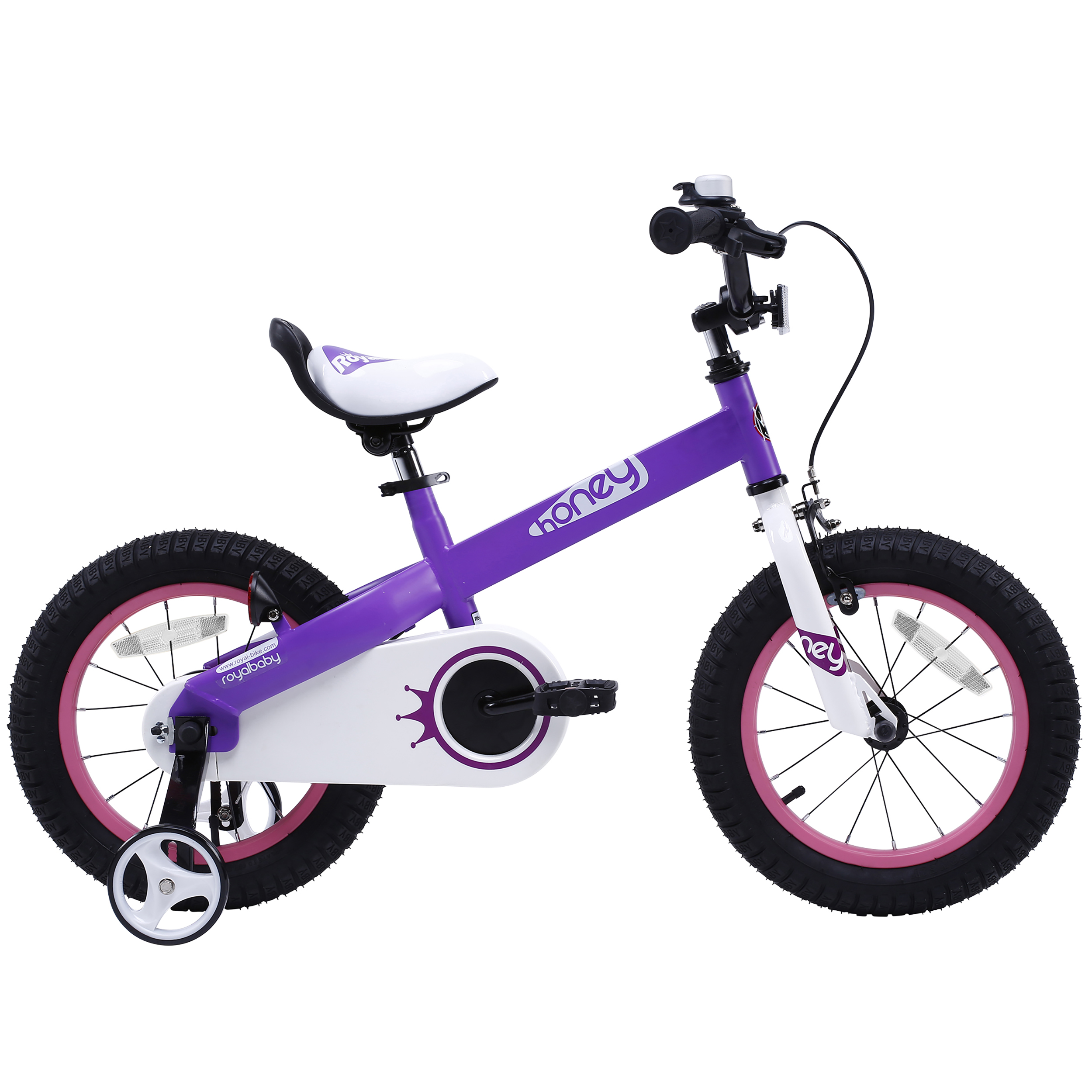 Royalbaby Honey Kid's Bike with training wheels, 16 inch bike for boys or girls PartNumber: 006VA96140612P MfgPartNumber: RB16-15H