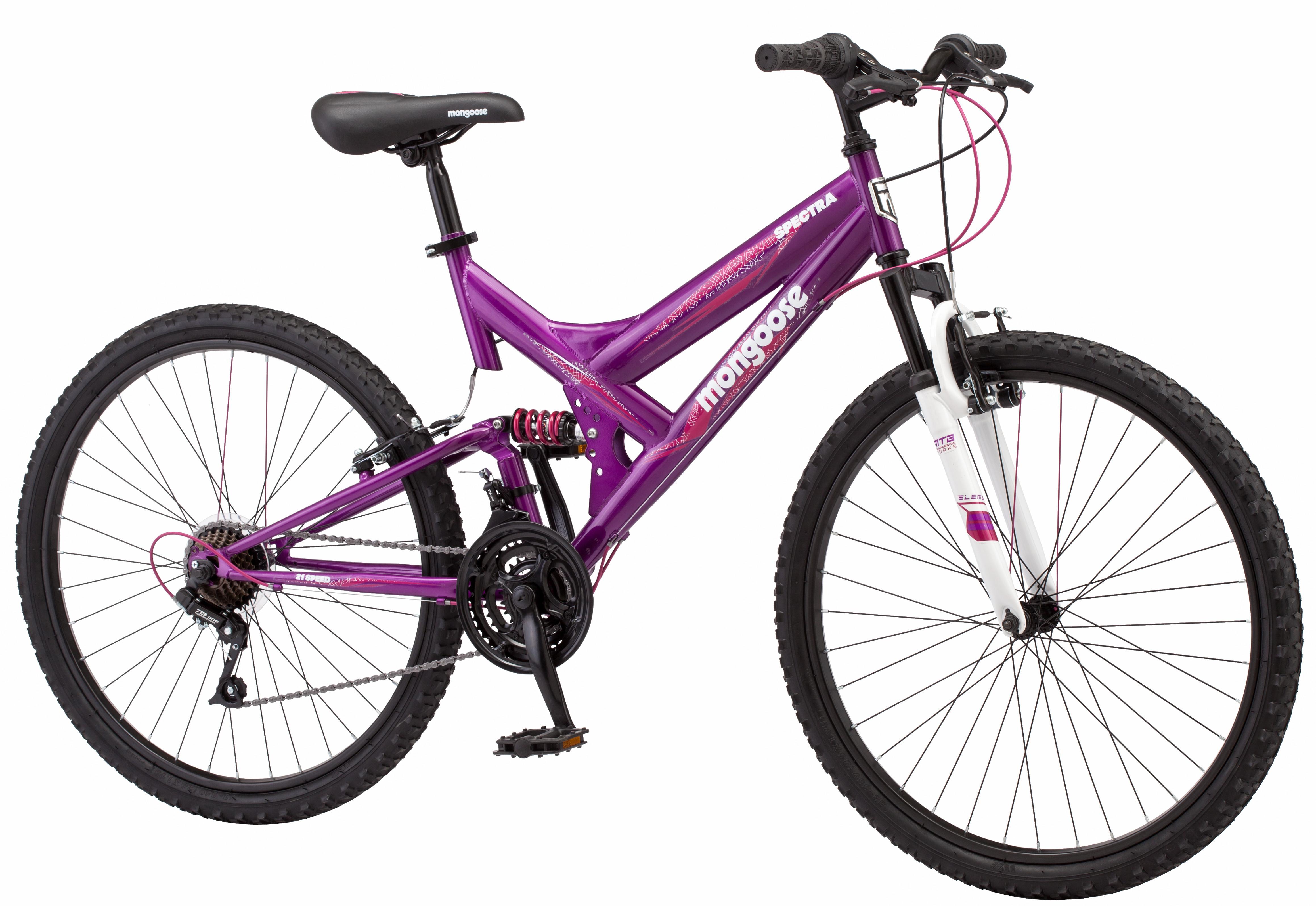 """""""Mongoose 26"""""""" Spectra Women's Mountain Bike, Size: Large, Purple"""""" im test"