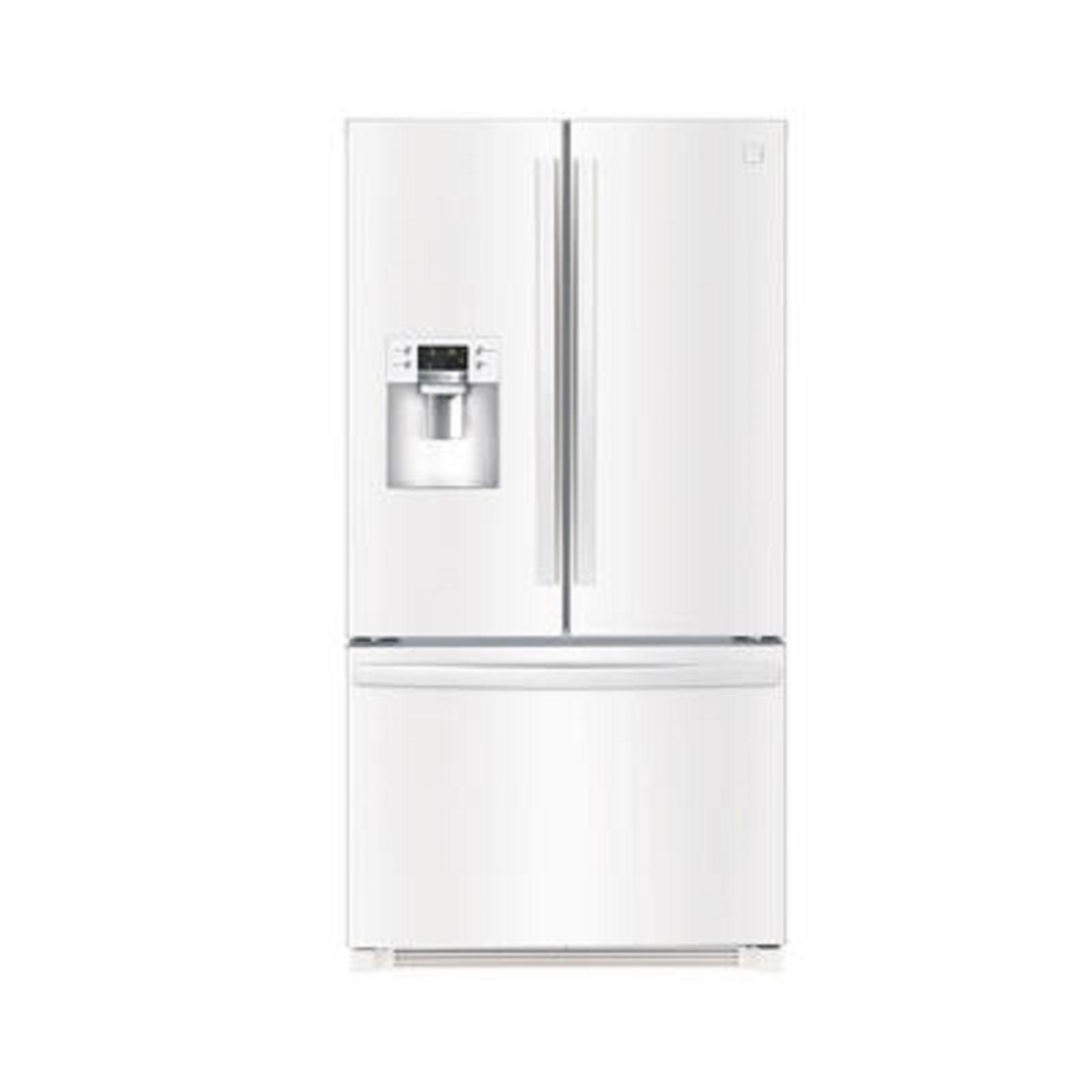 Kenmore 73042 25 6 Cu Ft French Door Refrigerator W