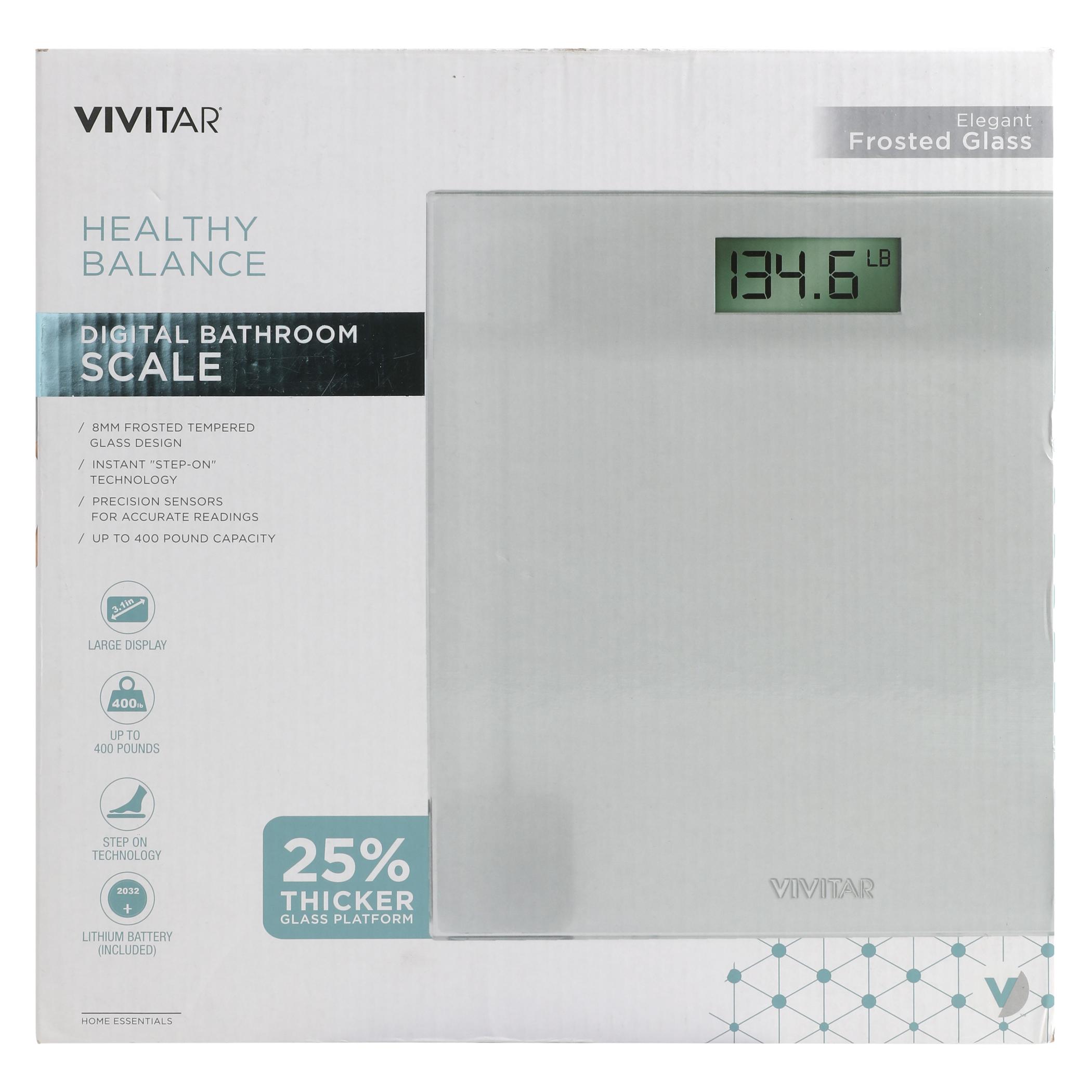 VIV VIVITAR DIGITAL ROOM SCALE, White im test
