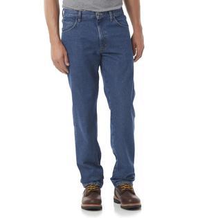 Rustler Men's Relaxed Fit Jeans - Medium Wash