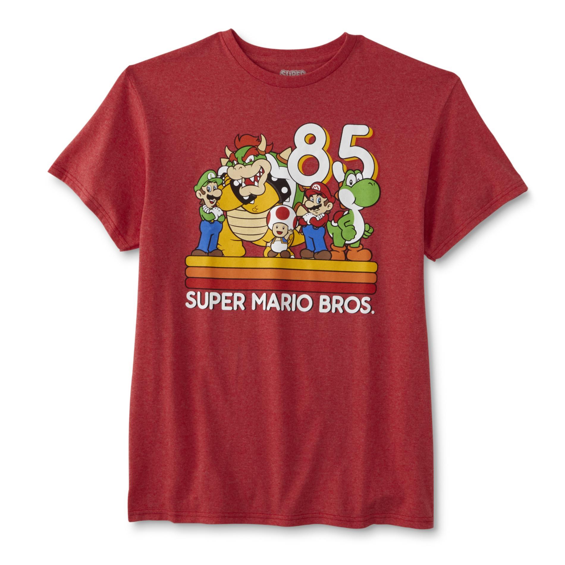 Nintendo Super Mario Bros. Men's Graphic T-Shirt
