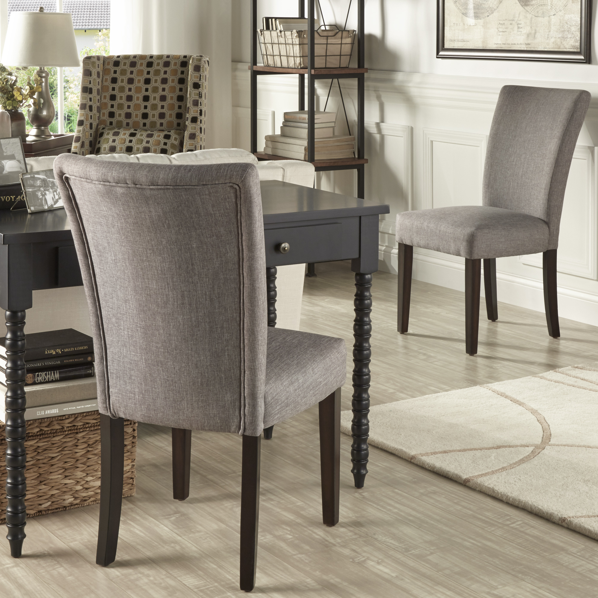 Oxford Creek Melrose Side Chair In Grey Set Of 2 Home Furniture Dining Kitchen