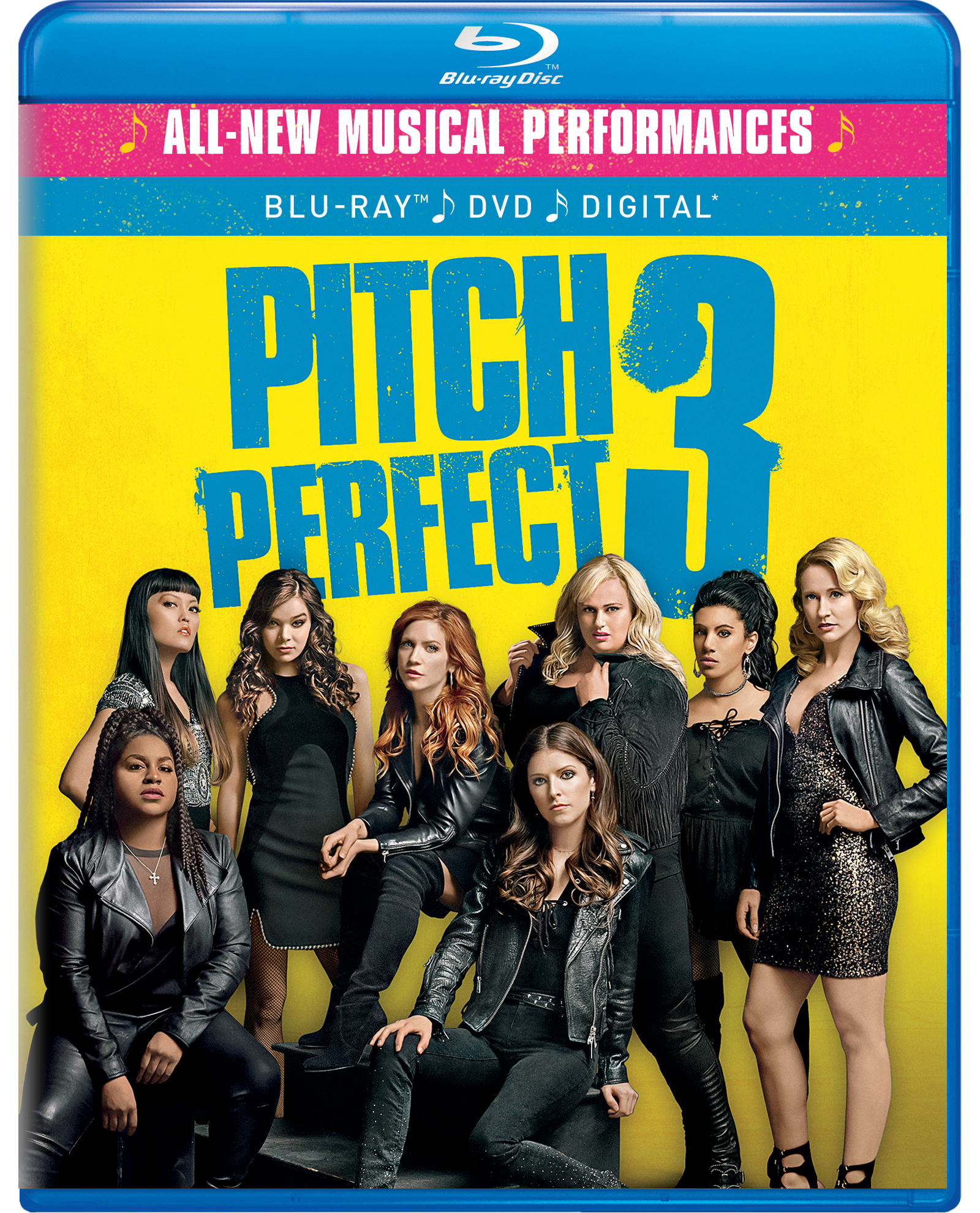 Pitch Perfect 3 (Blu-ray / DVD / Digital) PartNumber: A017969311 KsnValue: 2703840 MfgPartNumber: 61181257