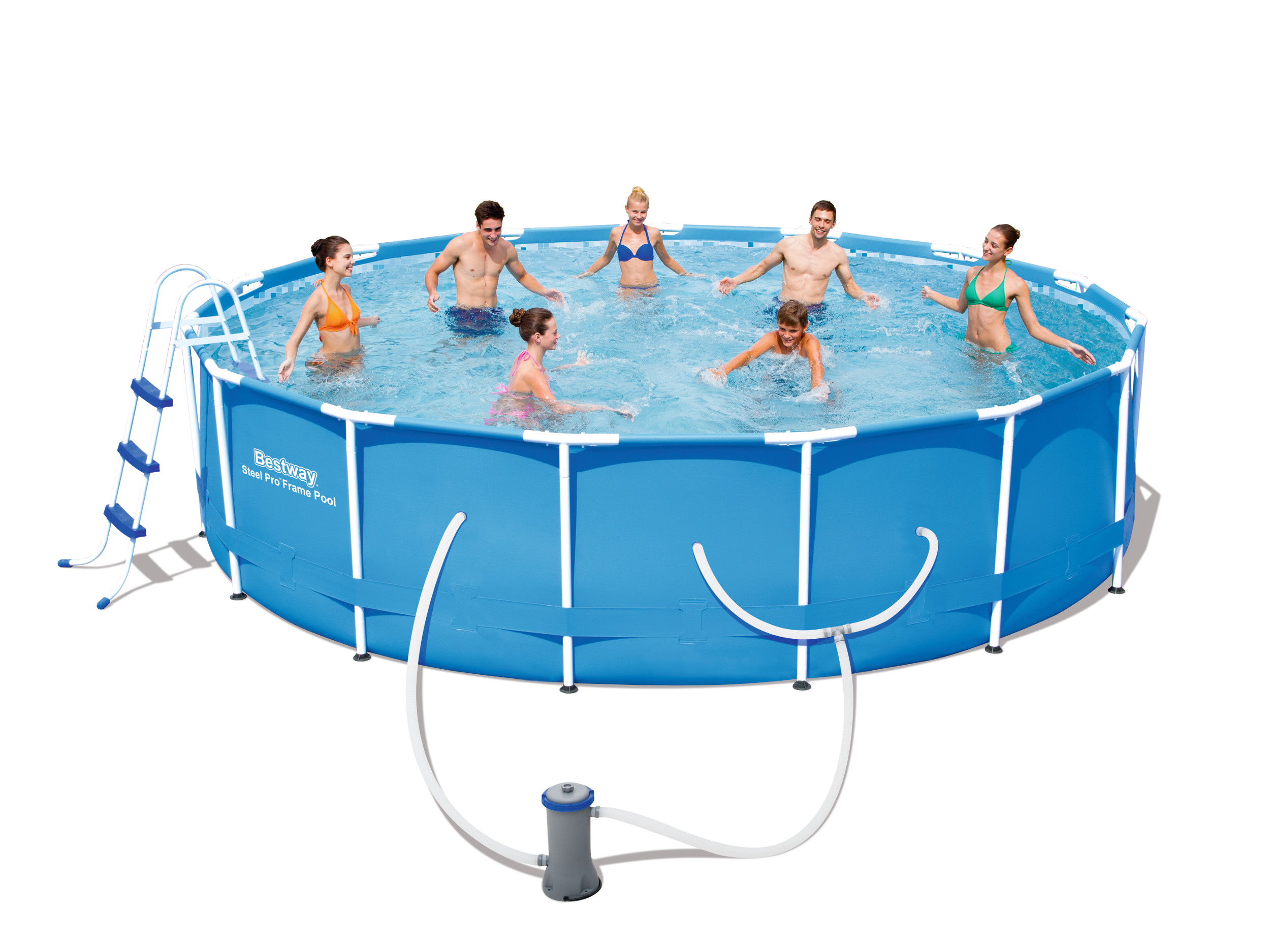 Bestway 14 X 42 Steel Pro Frame Pool Set