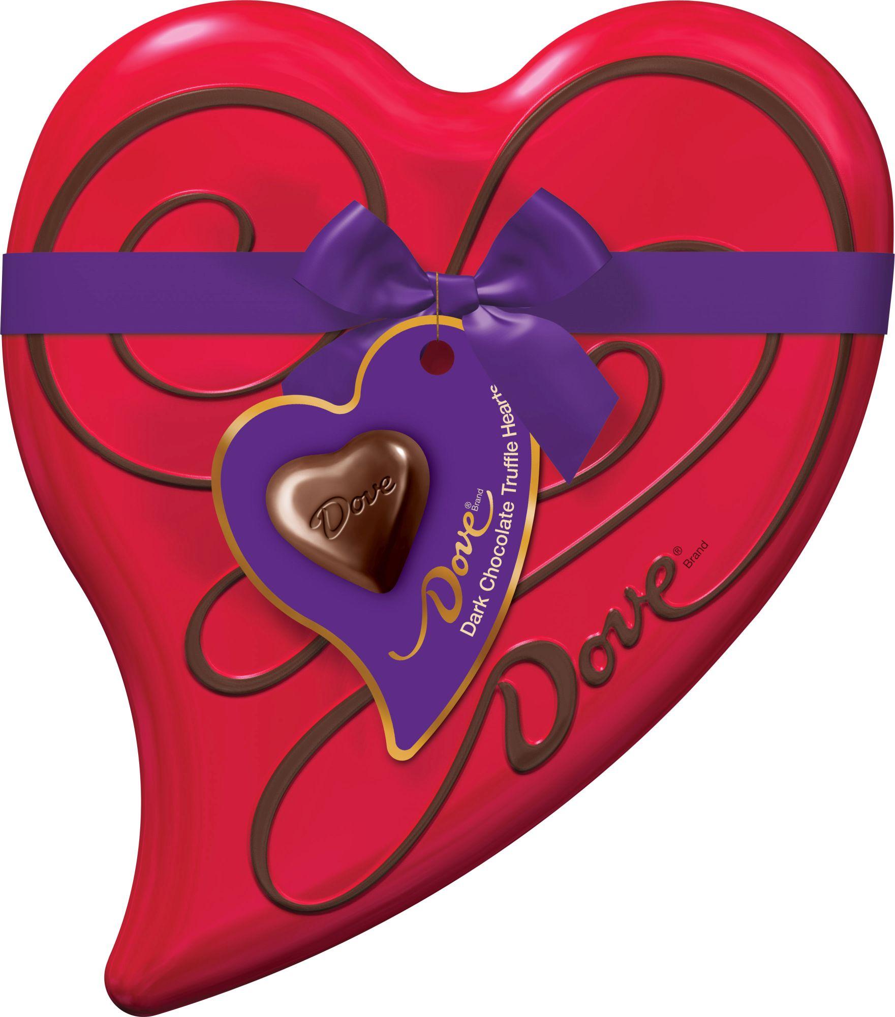 Mars Dove Valentine Dark Chocolate Truffle Heart Tin 6.5oz PartNumber: 033W008855727001P KsnValue: 8855727 MfgPartNumber: 08855727