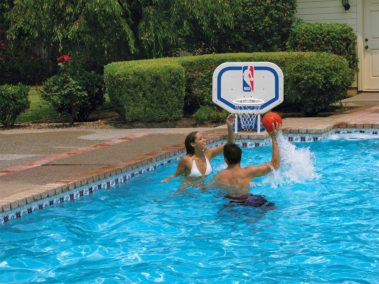 Poolmaster NBA Logo Pro Rebounder Basketball Game