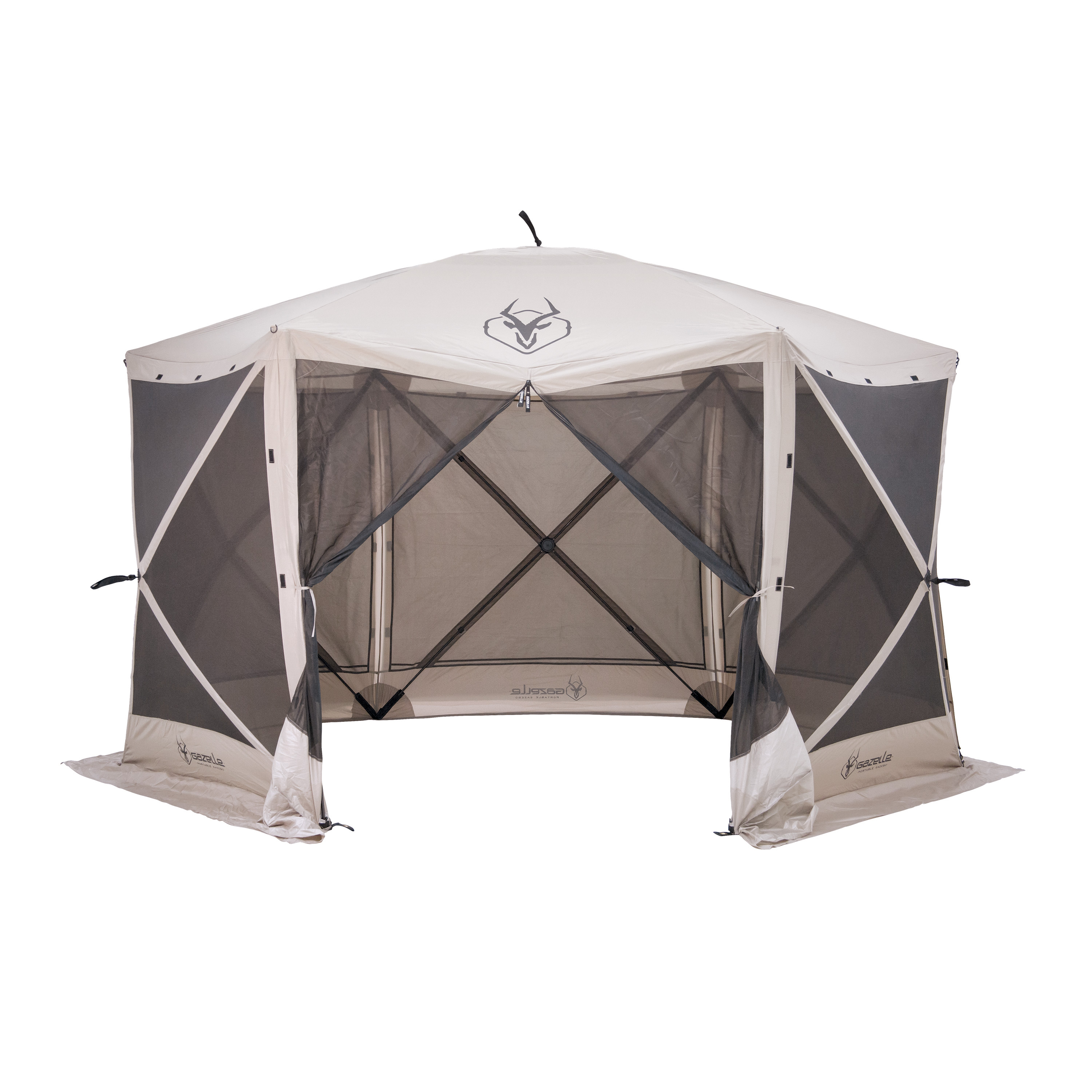 Portable Outdoor Screen Gazebo : Gazelle sided portable gazebo shop your way online
