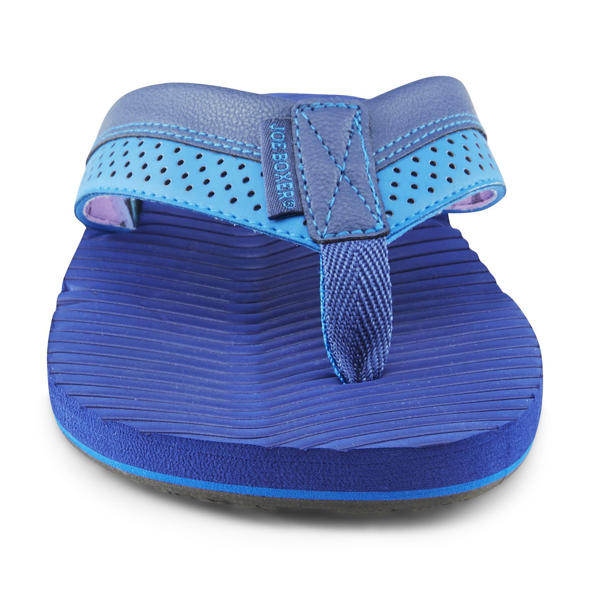 Men's Soren Blue Thong Sandal