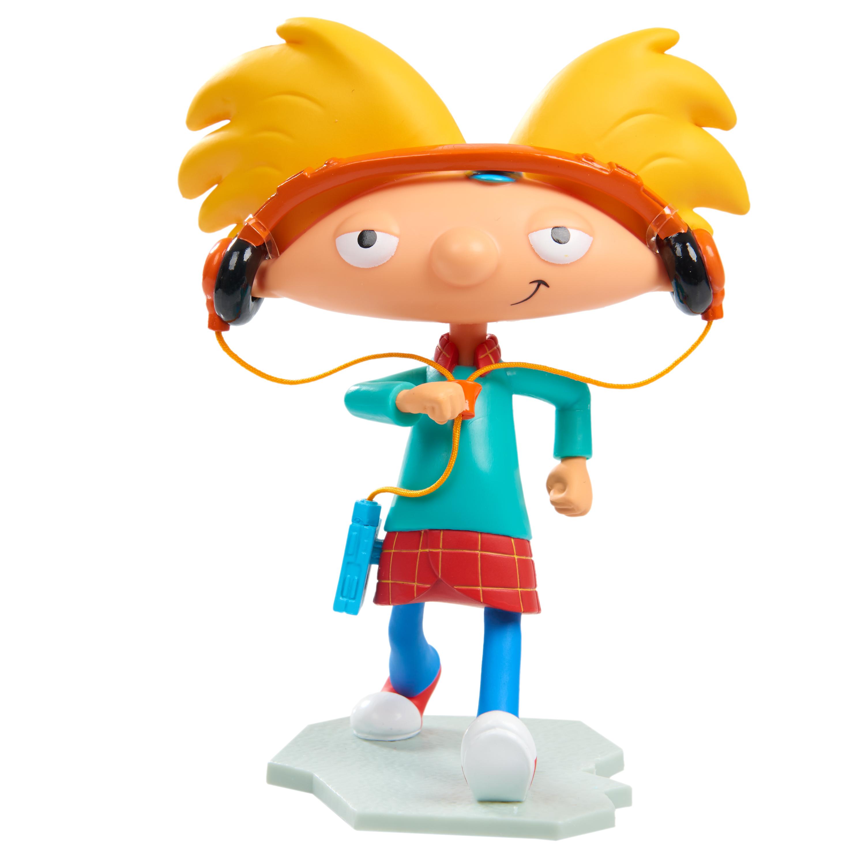 "Just Play Nick '90s Hey Arnold 6"" Vinyl Figure PartNumber: A010410095 KsnValue: 004W005899512001 MfgPartNumber: 46525"
