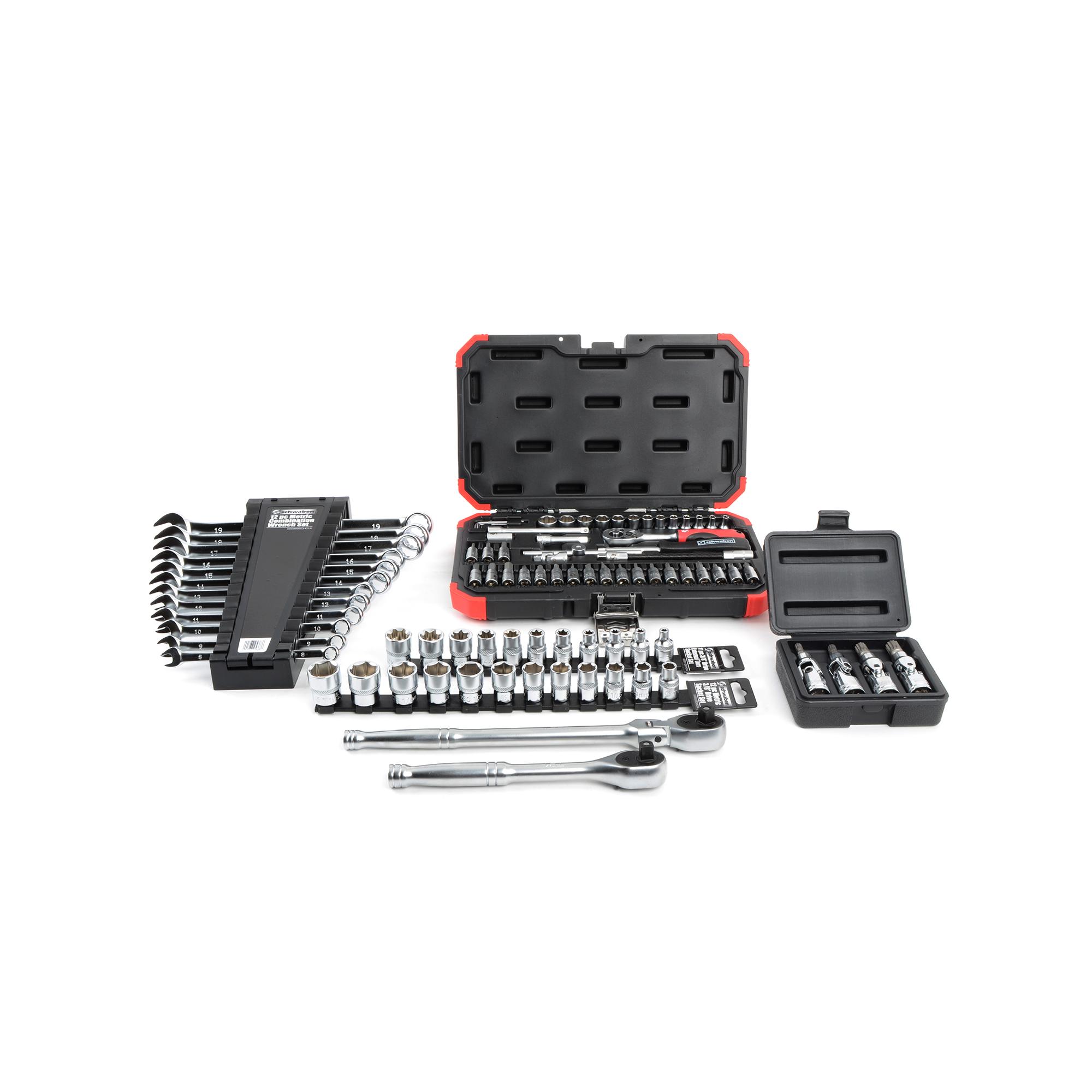 Schwaben European Hand Tool Starter Kit PartNumber: 00950687000P KsnValue: 1228557 MfgPartNumber: 005981SCH01AKT