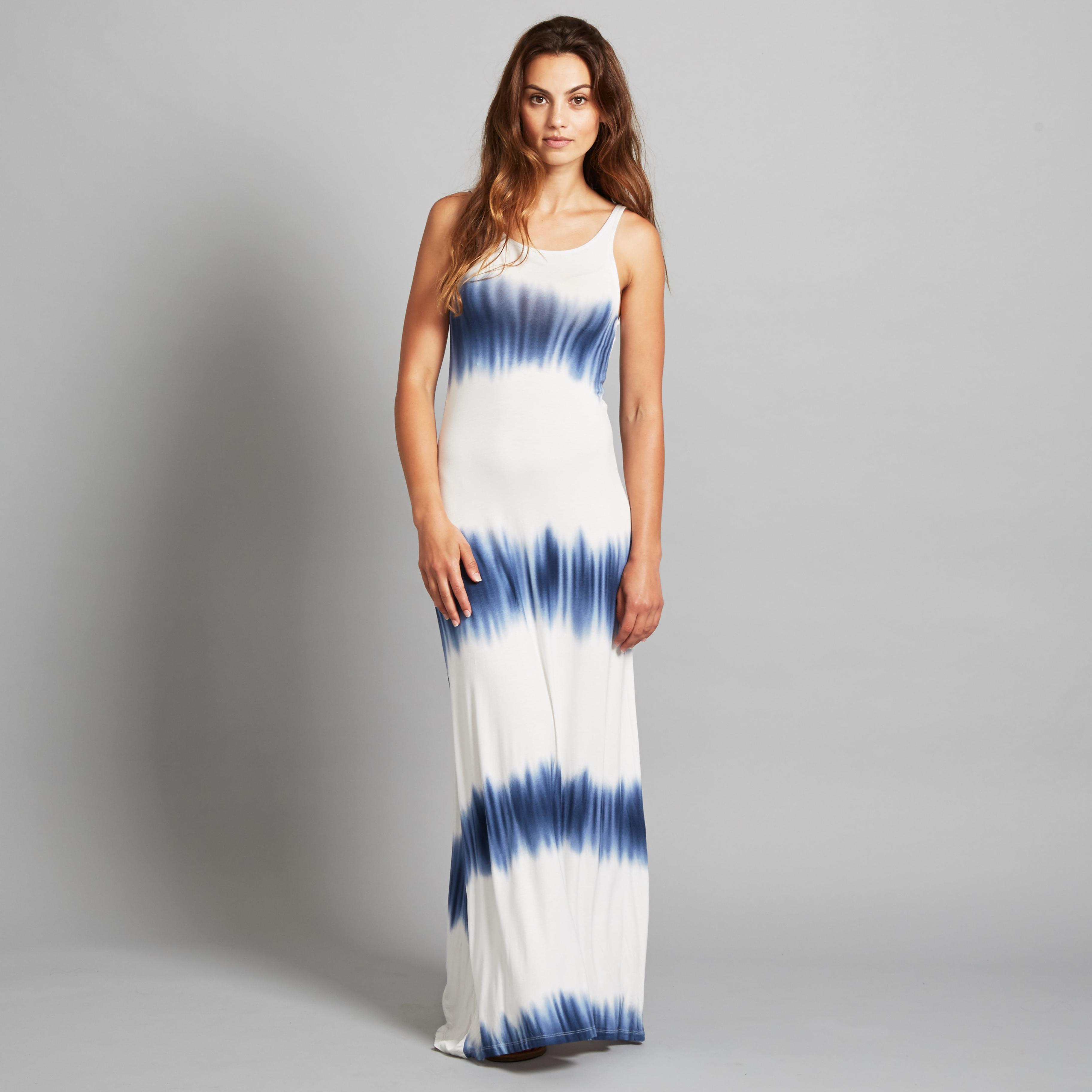 Women's Tie Dye Maxi Dress