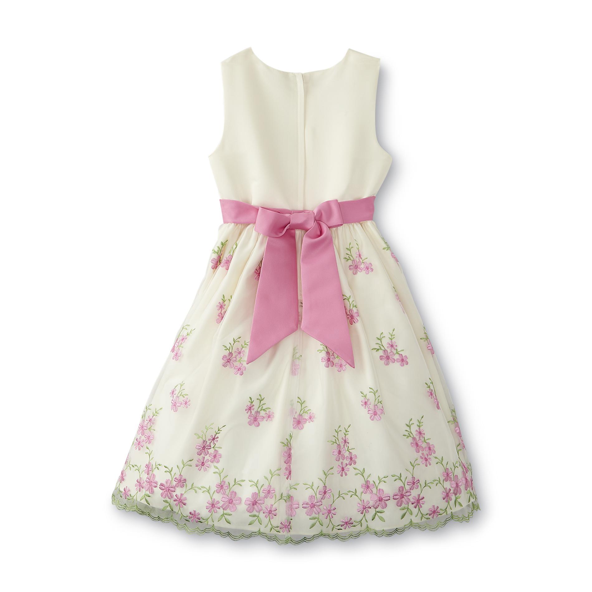 American Princess Girl's Sleeveless Occasion Dress