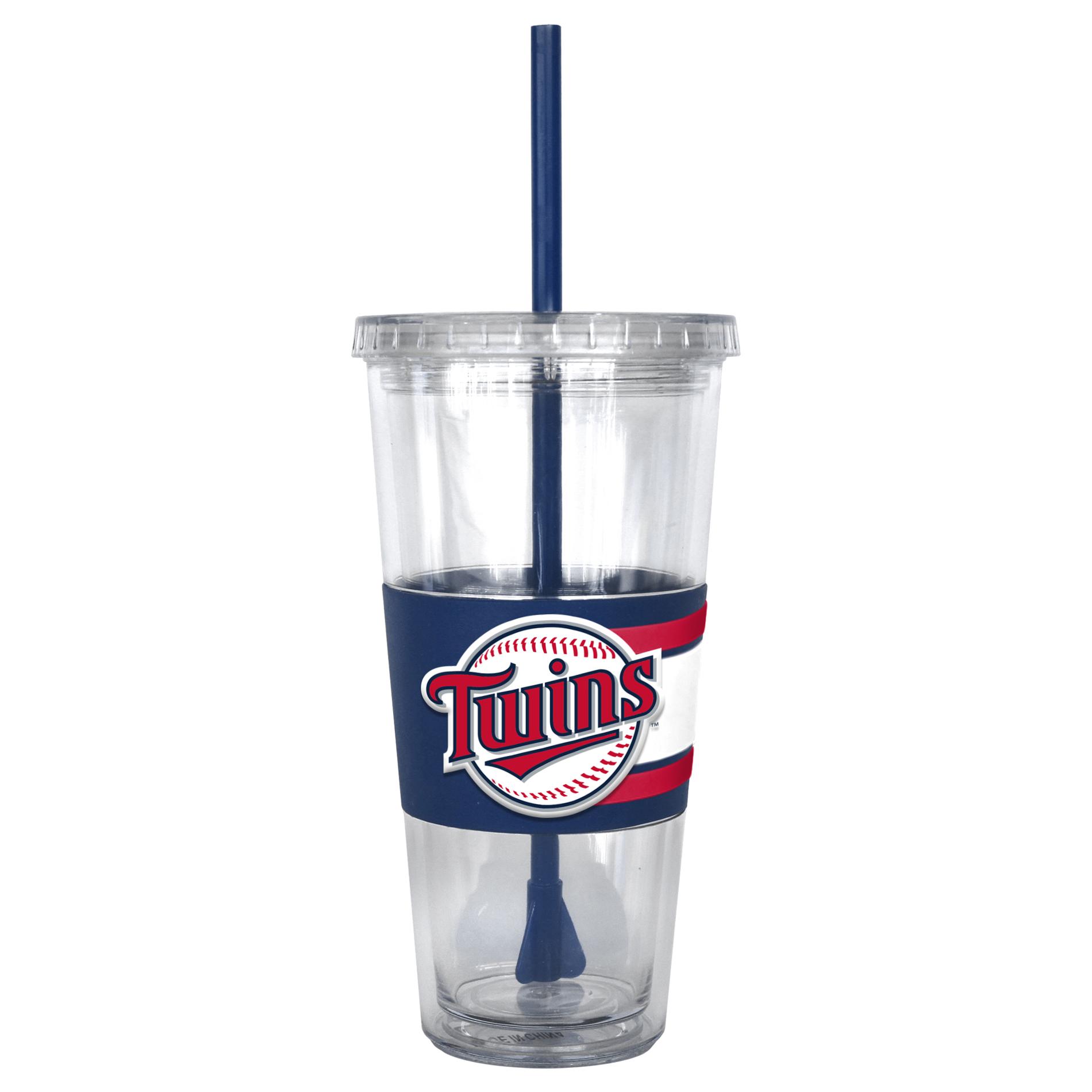 MLB Tumbler w/ Straw - Minnesota Twins, Size: Large, Brown im test