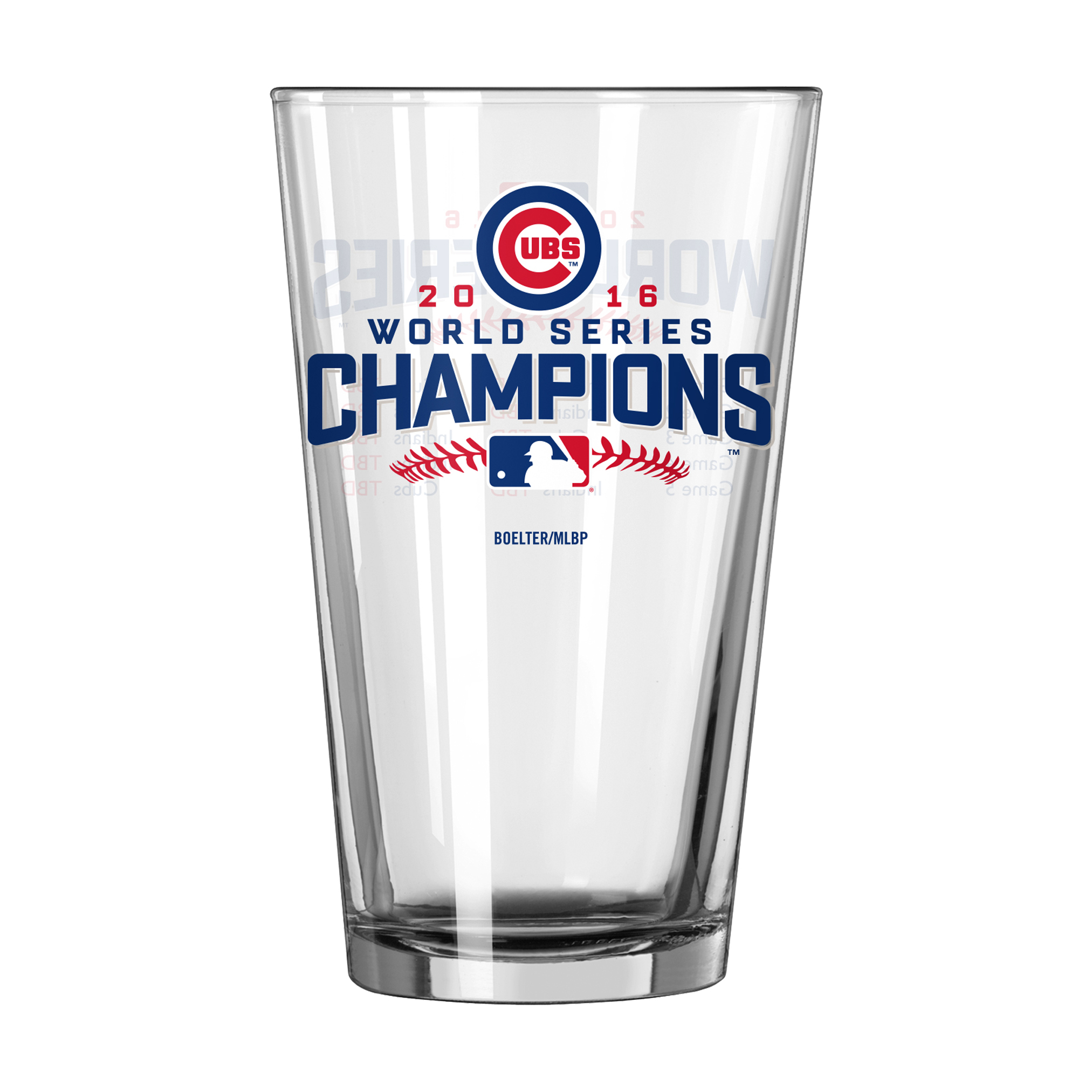MLB 2016 World Series Game Summary Pint Glass – Chicago Cubs PartNumber: 046W009349960001P KsnValue: 9349960 MfgPartNumber: 467890