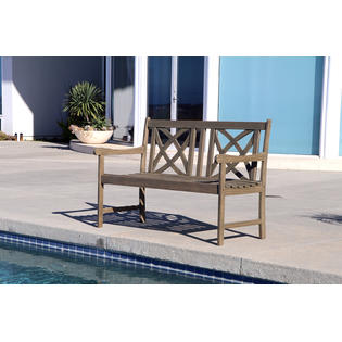 Fantastic Vifah Renaissance 4Ft Outdoor Hand Scraped Hardwood Garden Ocoug Best Dining Table And Chair Ideas Images Ocougorg