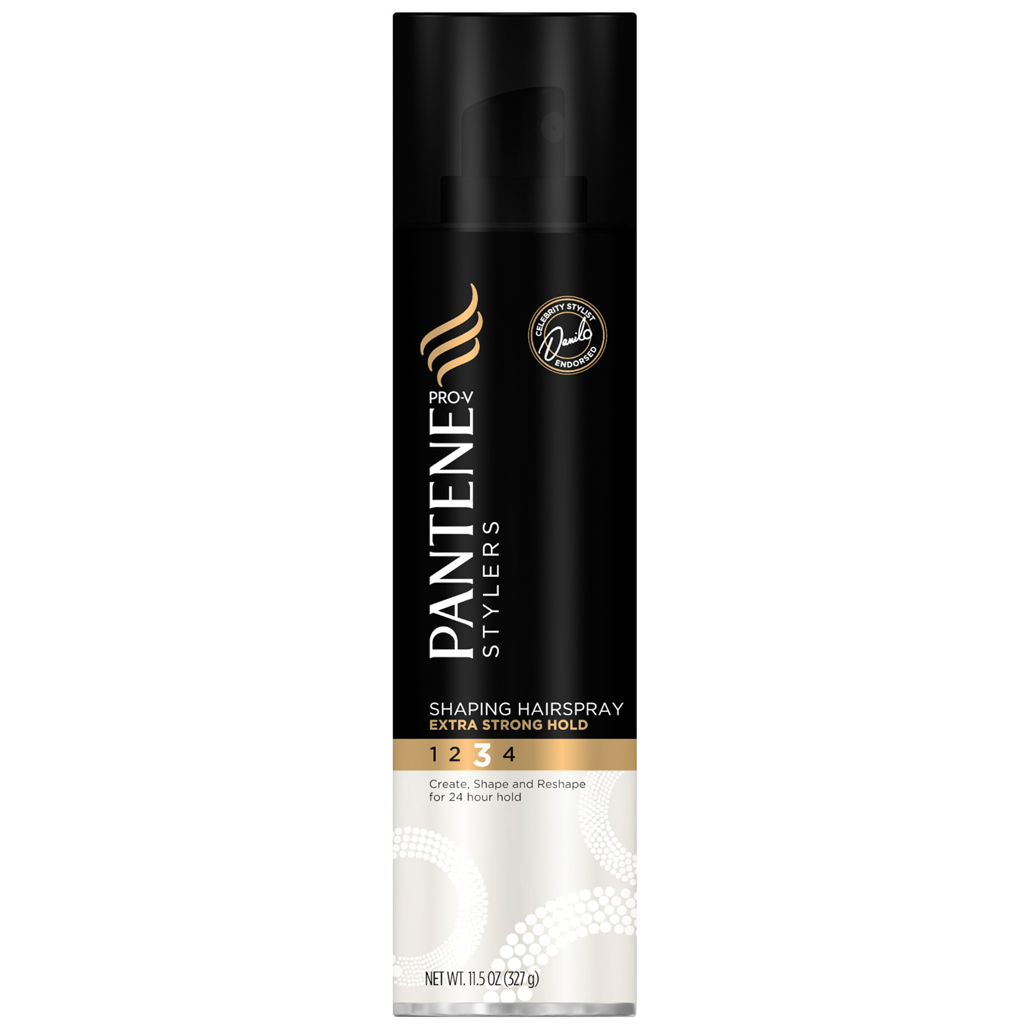 Pantene Pro-V Stylers Shaping Extra Strong Hold Hair Spray 11.5 Ounce (Pack of 3) PartNumber: 038W005427222001P