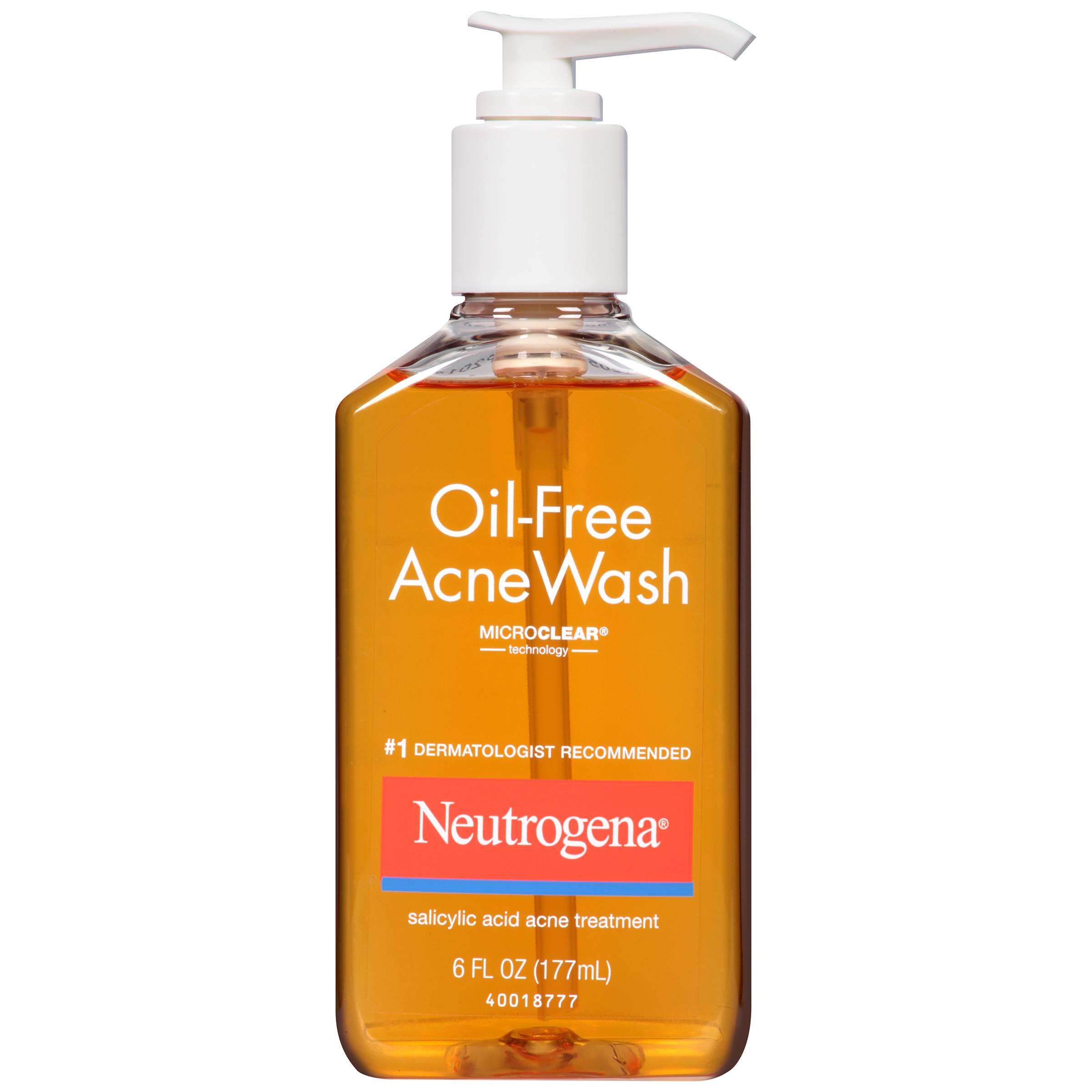 Neutrogena Acne Wash Oil-Free Acne Wash 6 FL OZ PUMP