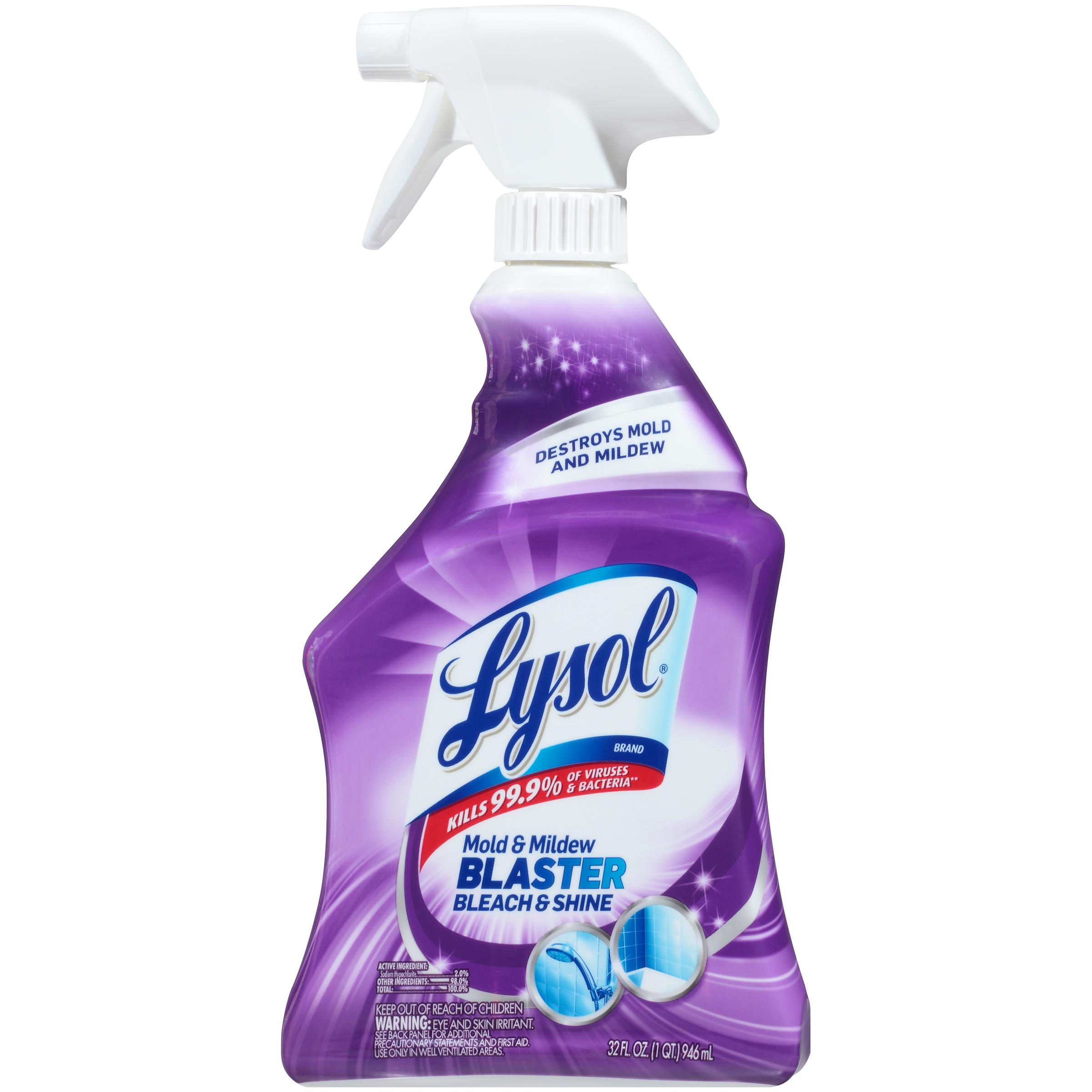 Lysol Mildew Remover With Bleach 32 Fl Oz 946 Ml Food