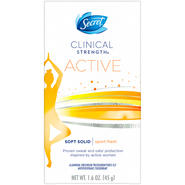 Secret Clinical Strength Smooth Solid Women's Sport Fresh Scent Antiperspirant & Deodorant 1.6 STICK at Sears.com