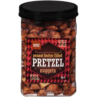 Smart Sense Peanut Butter Filled Pretzel Nuggets 24 OZ Canister - Food ...