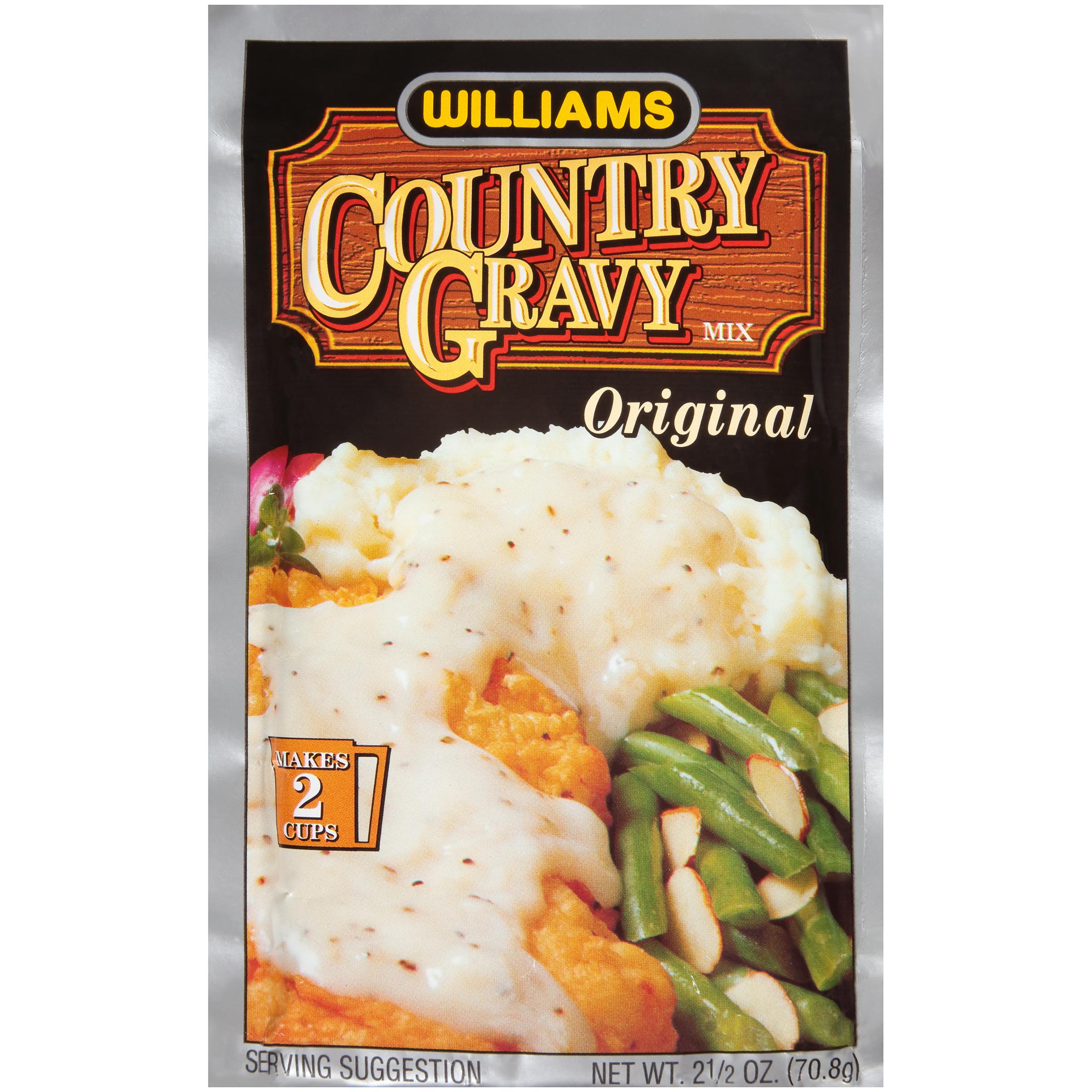 Country Gravy Mix, Original, 2.5 oz (70.8 g) PartNumber: 08748882000P