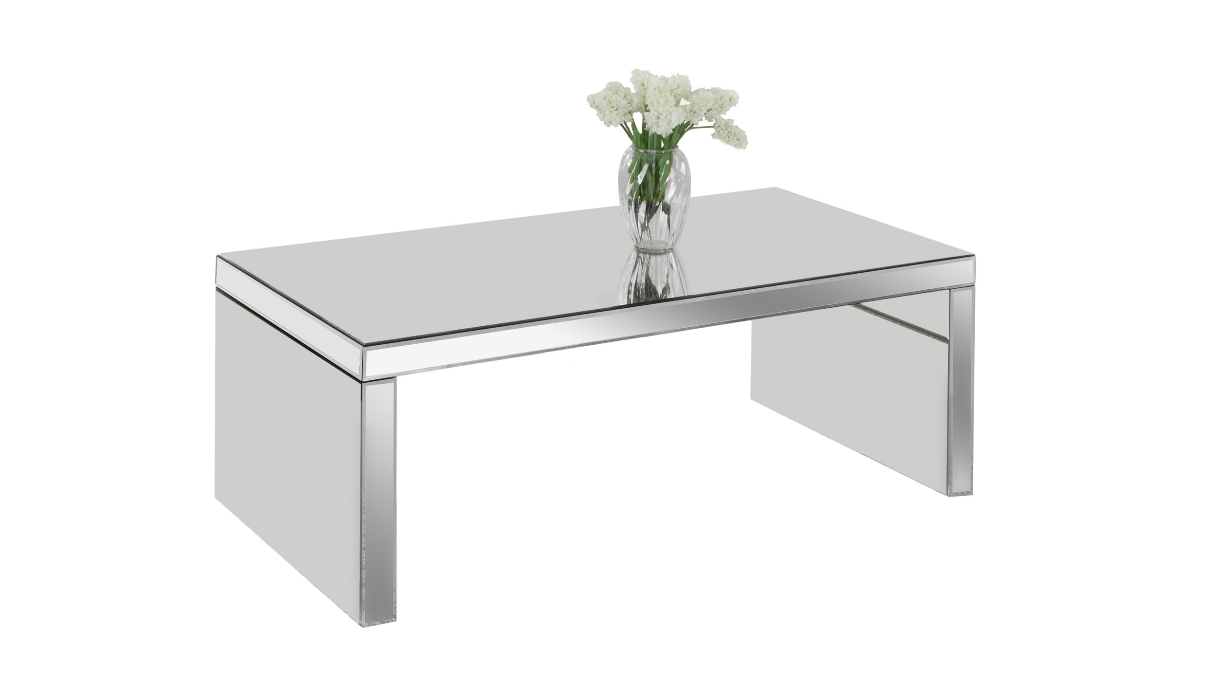 """Monarch Specialties Coffee Table - 48""""X 24"""" / Mirror PartNumber: 00857012000P KsnValue: 9166845 MfgPartNumber: I 3715"""