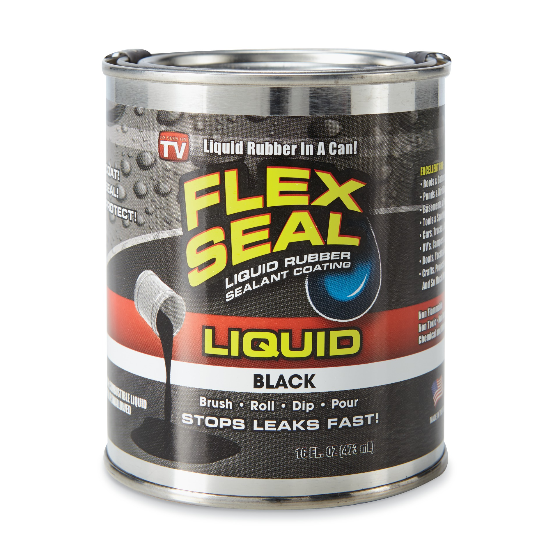 Image of Flex Seal Black Liquid
