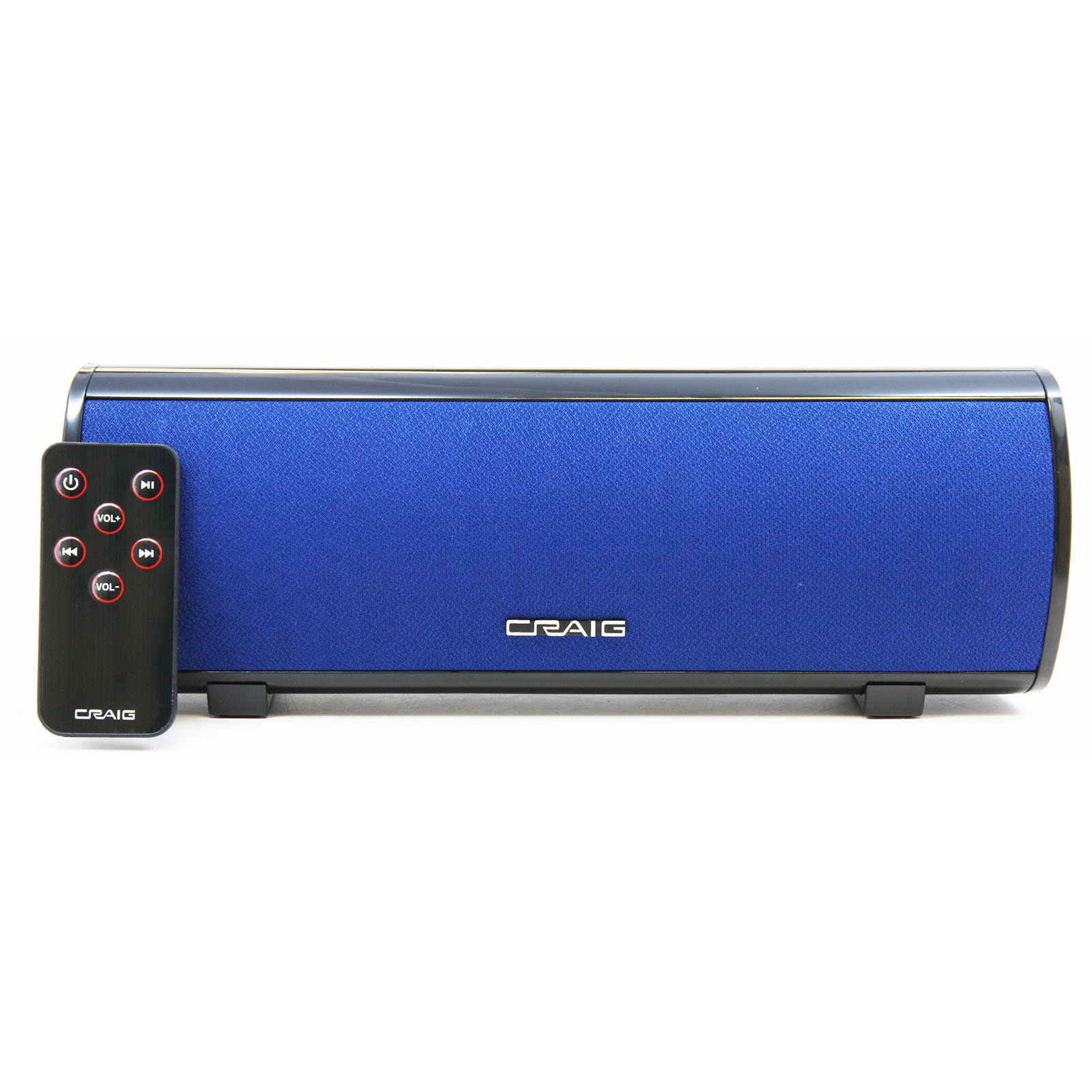 Stereo Speaker Bar with Bluetooth Wireless Technology-Blue