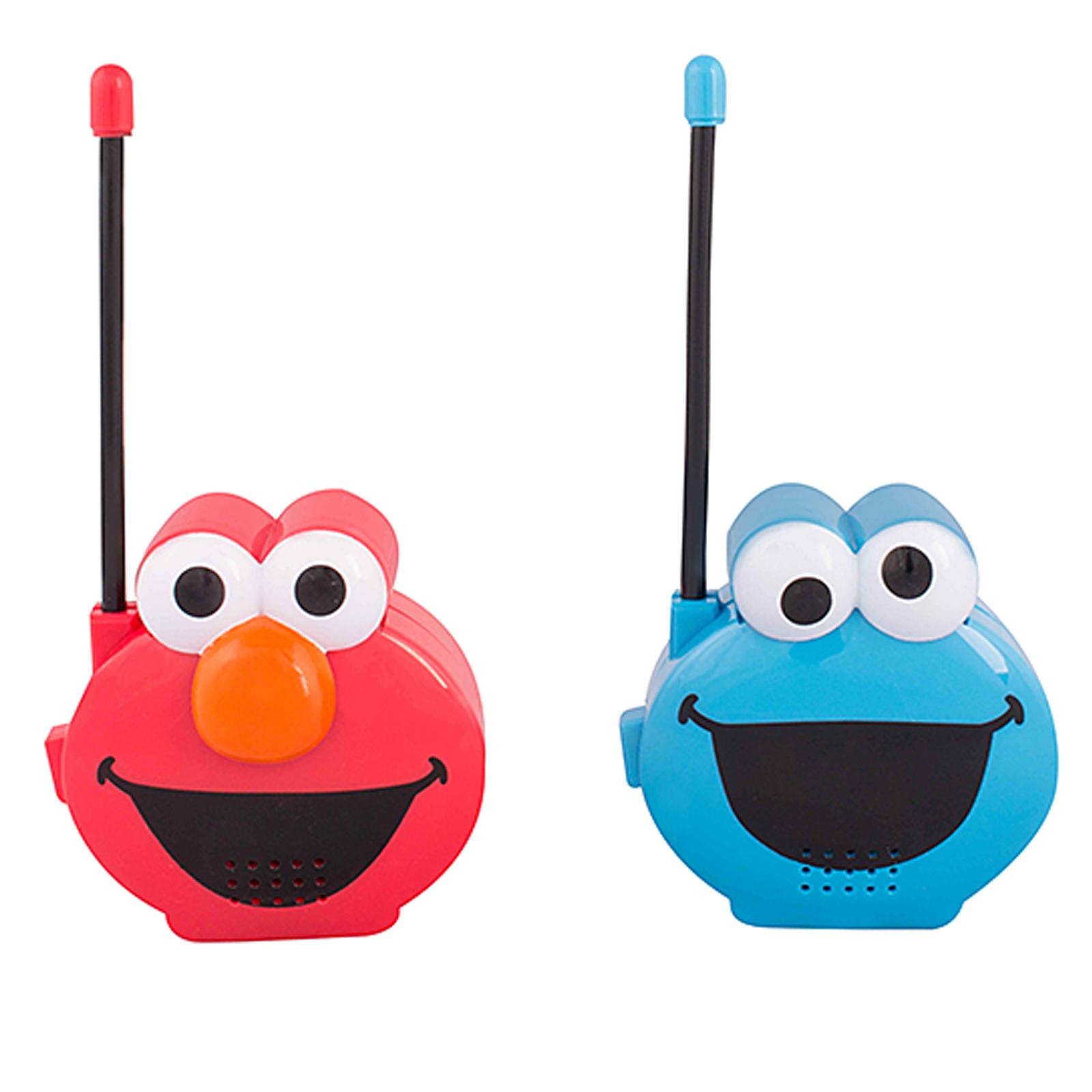 Sesame Street Elmo & Cookie Monster Molded Walkie Talkies