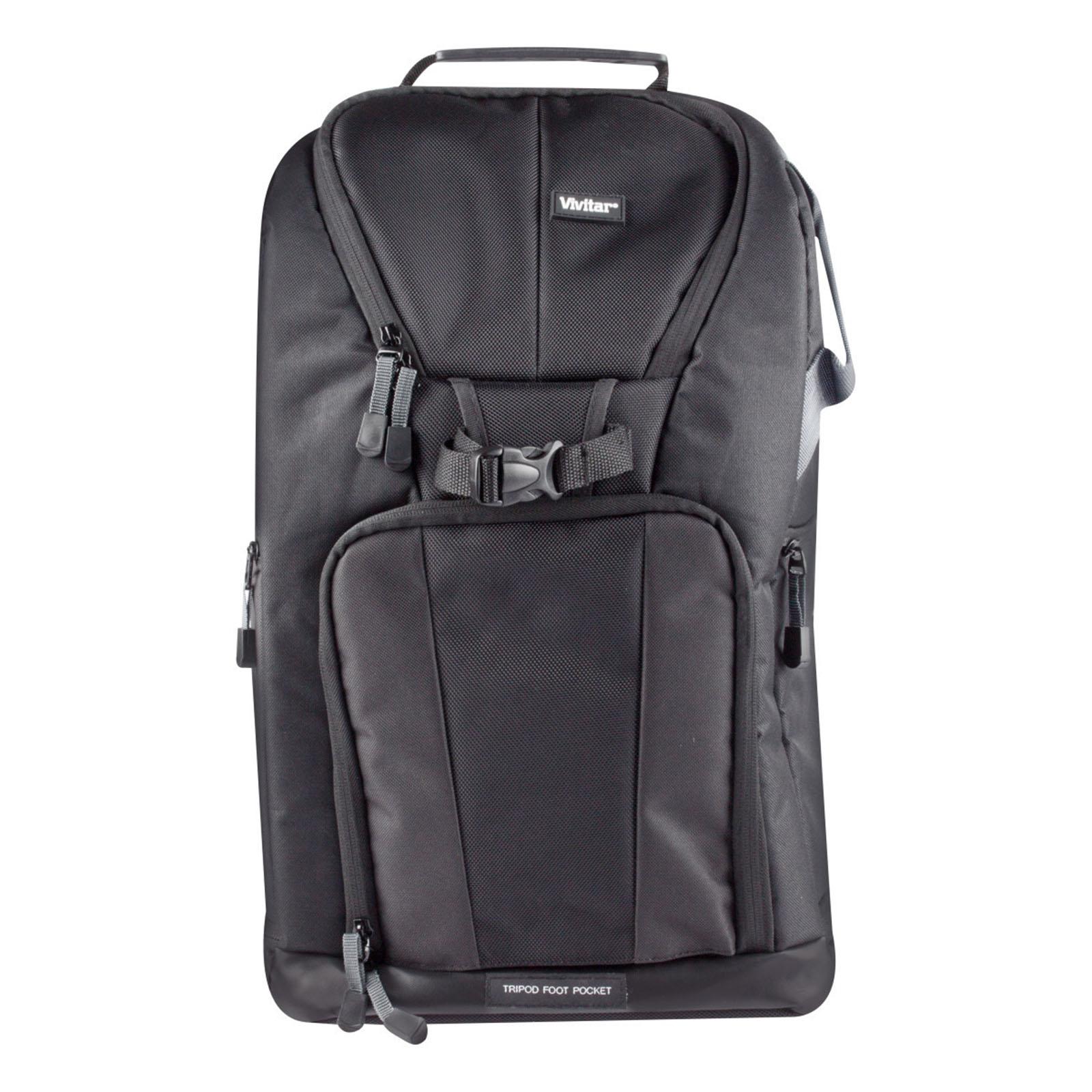 Image of Vivitar 970106174M Large Camera Backpack, Black