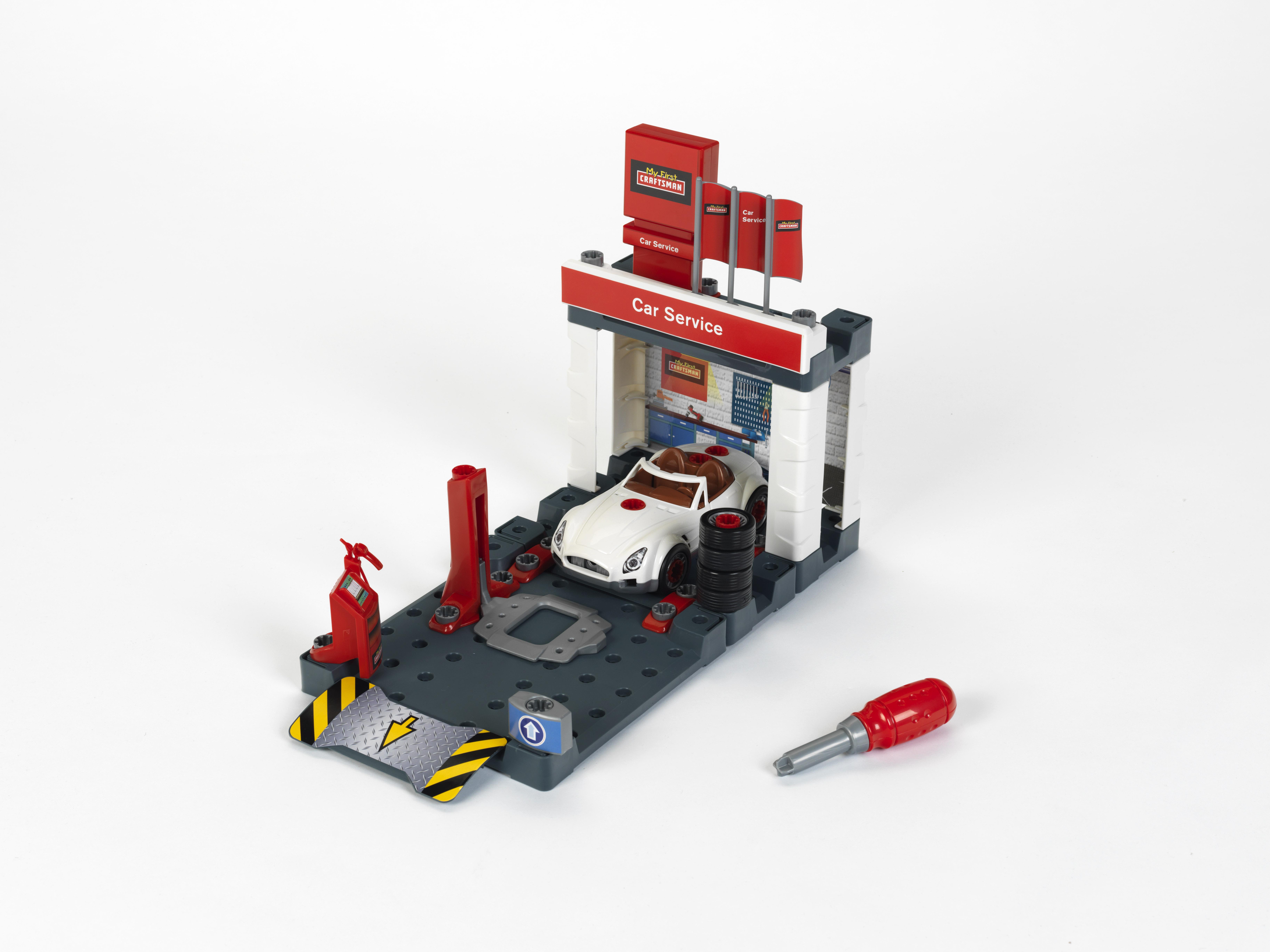 My First Craftsman Car Service Station Playset PartNumber: 004W006653597001P KsnValue: 6653597 MfgPartNumber: 8648S