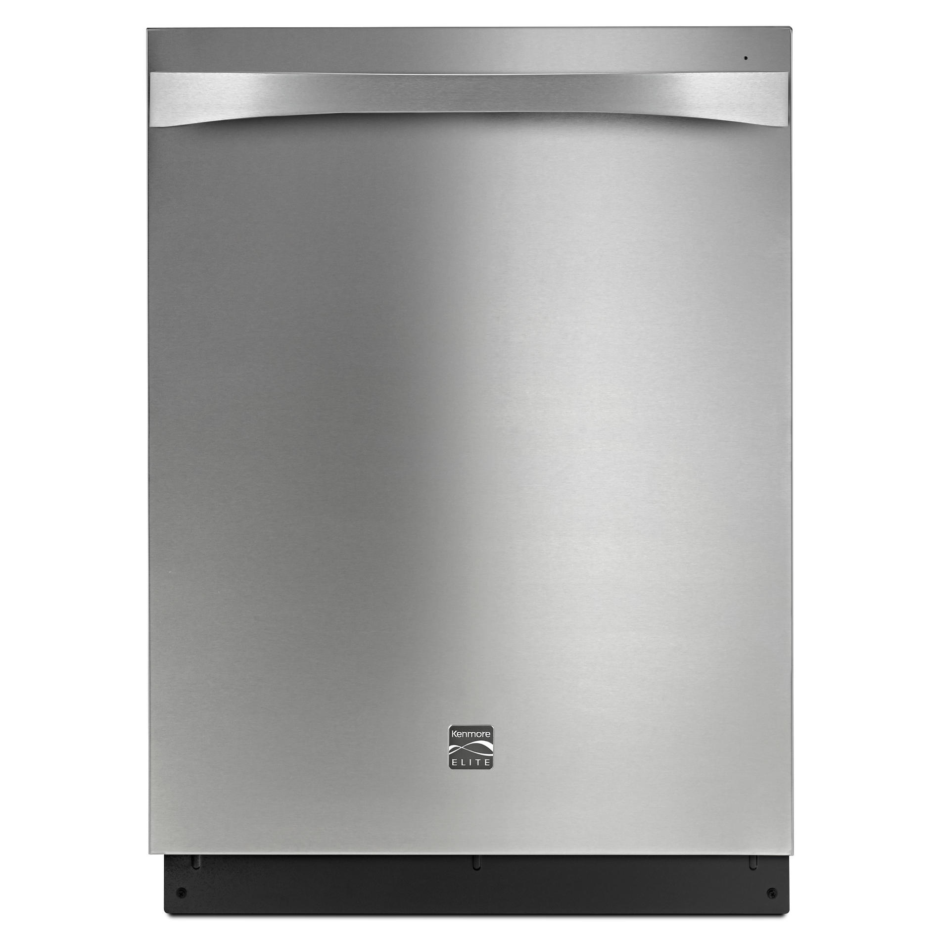 Kenmore Elite 14793 Dishwasher At 39 DBa With Turbo Zone Reach/360 Power  Wash Spray Arm   Stainless Steel Exterior With Stainless Steel Tub   Shop  Your Way: ...