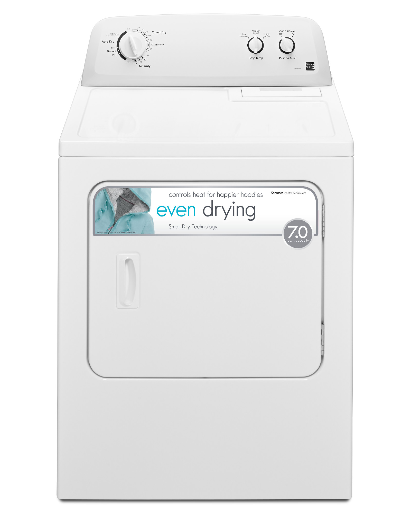 Kenmore 72332 7.0 cu. ft. Gas Dryer - White