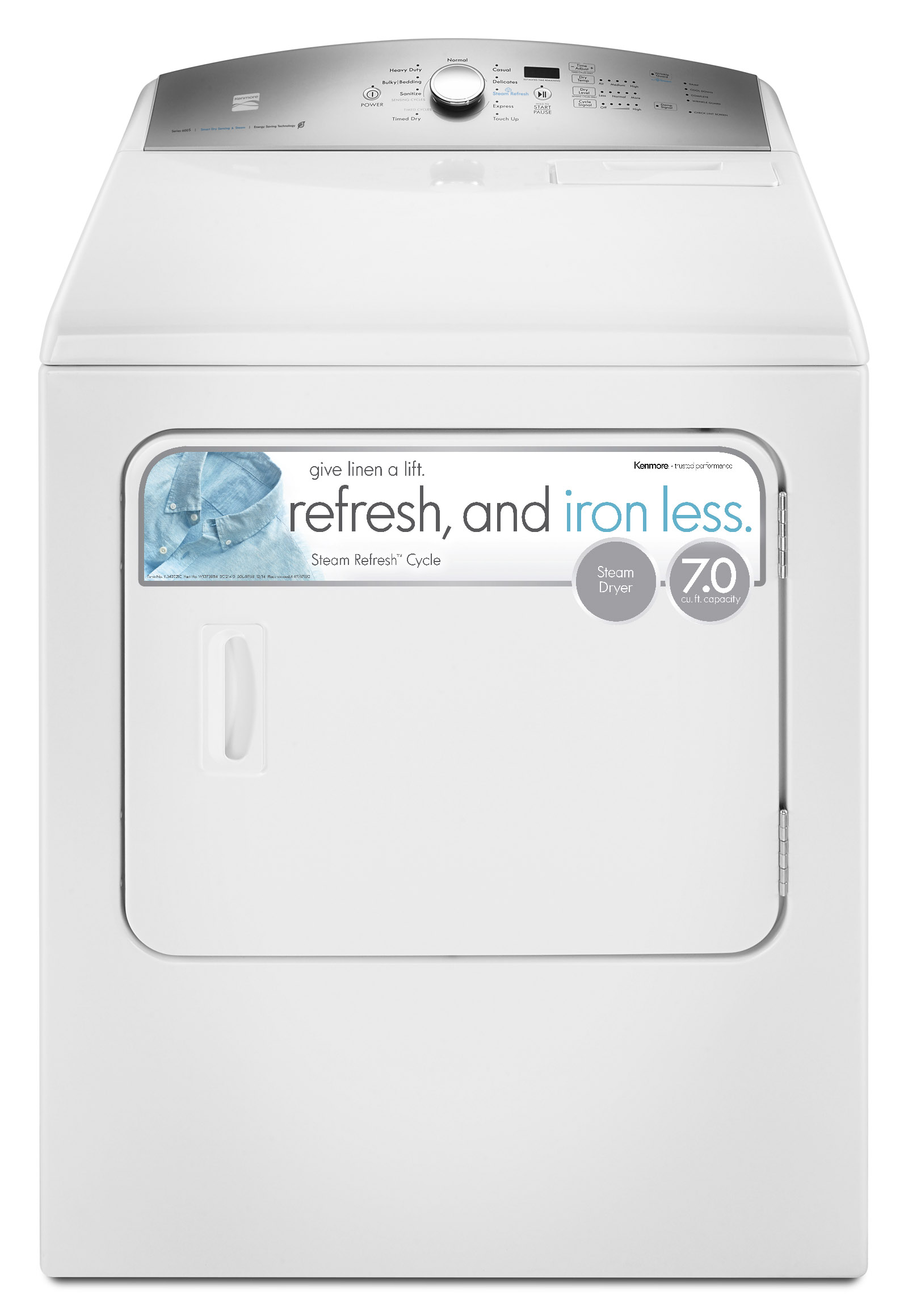 Kenmore 67132 7.0 cu. ft. Electric Dryer - White