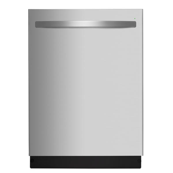 """Kenmore 14573 24"""" Dishwasher with Third Rack and PowerWave Spray Arm - Stainless Steel"""
