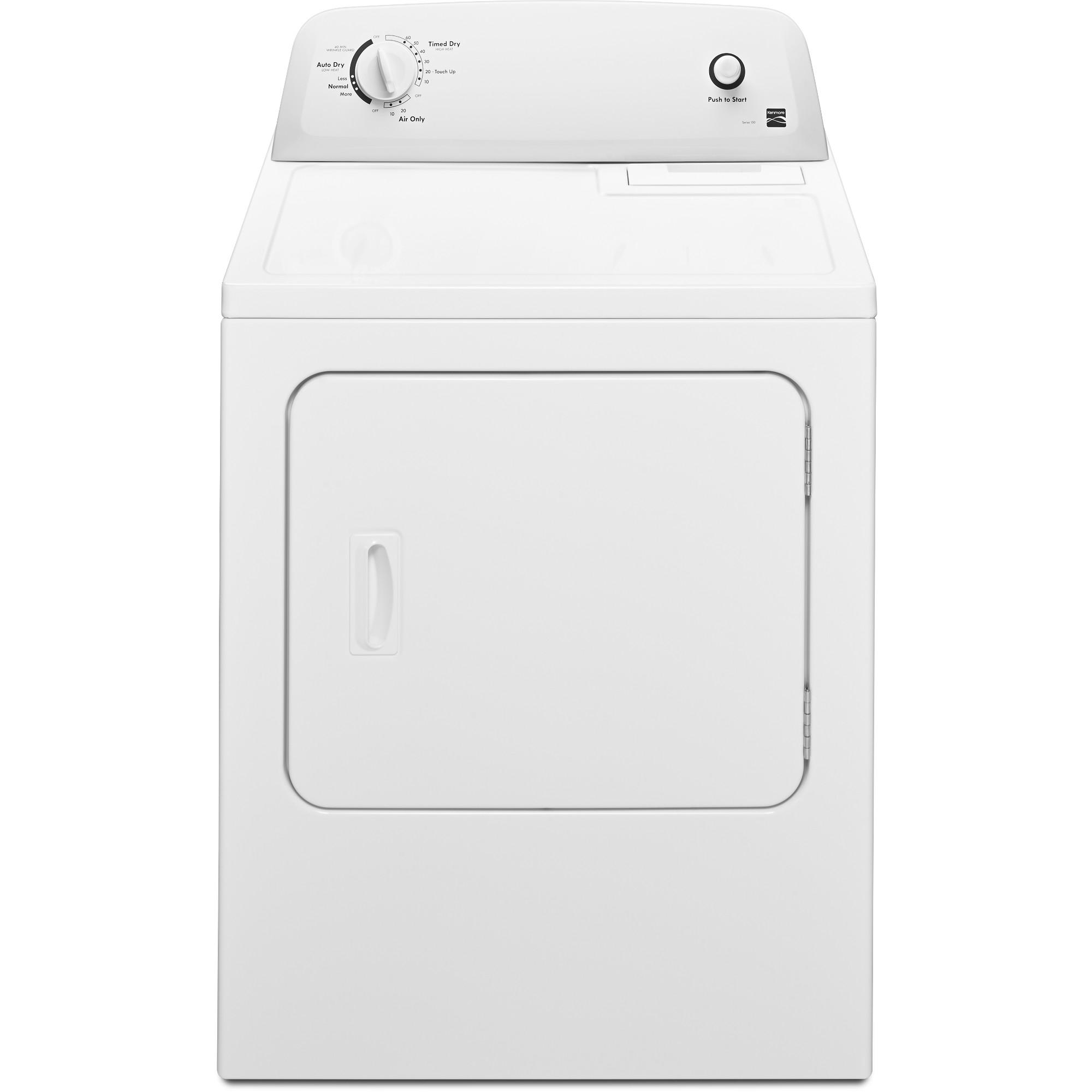 Kenmore-60222-6-5-cu-ft-Electric-Dryer-White