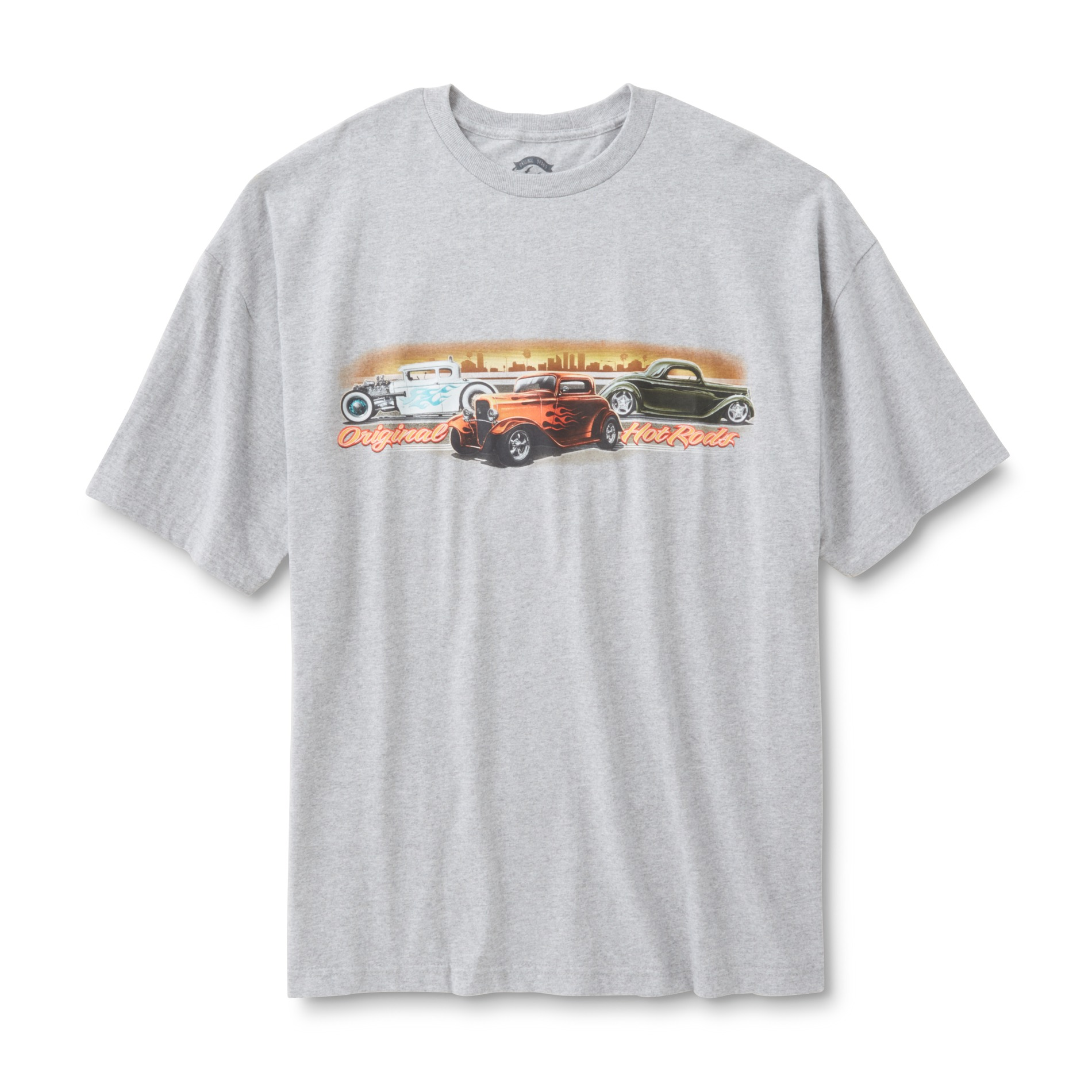 Men's Big & Tall Graphic T-Shirt-Hot Rods PartNumber: 041VA99064012P MfgPartNumber: XOBZT213-062-3XLT