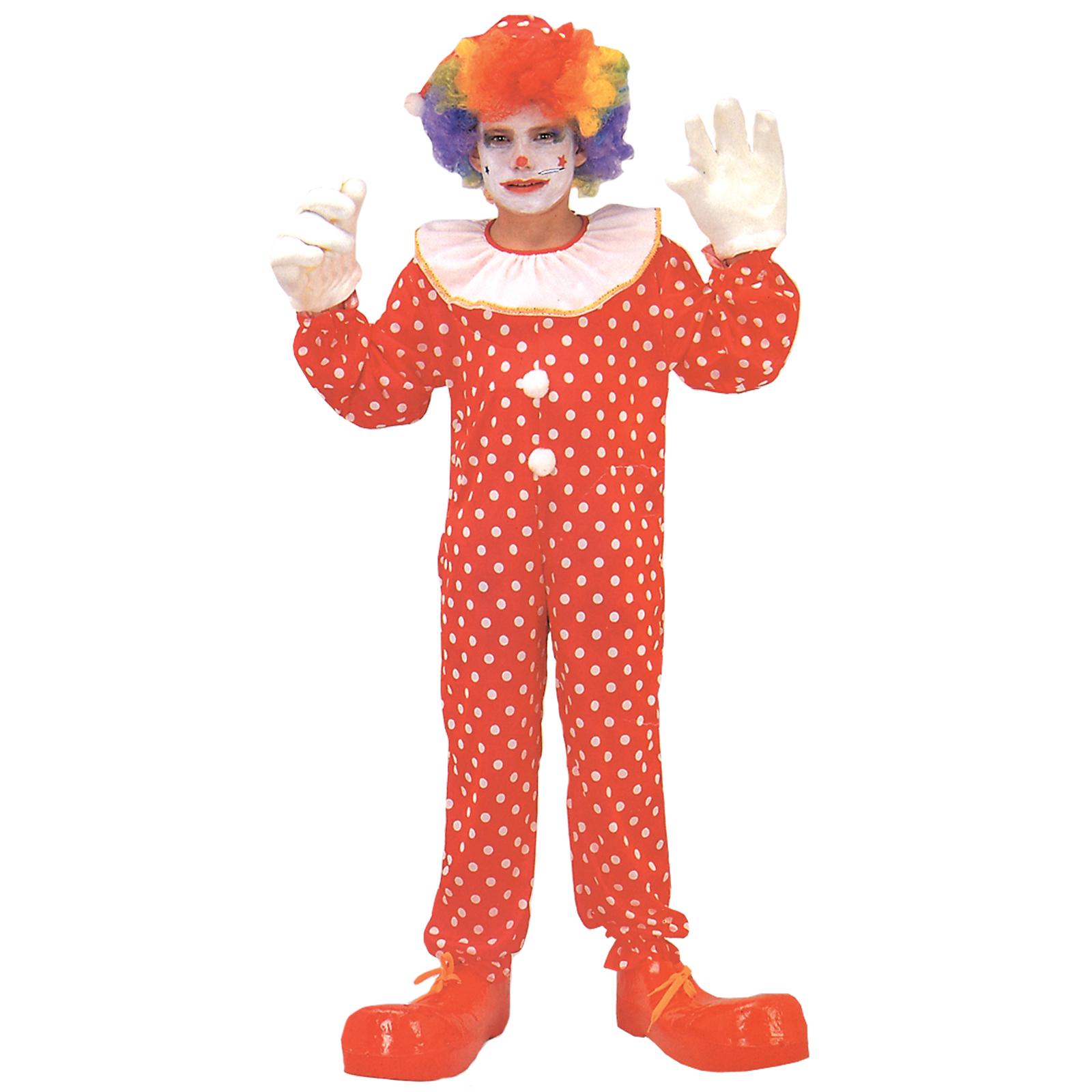 sc 1 st  Kmart & Boyu0027s Deluxe Clown Costume