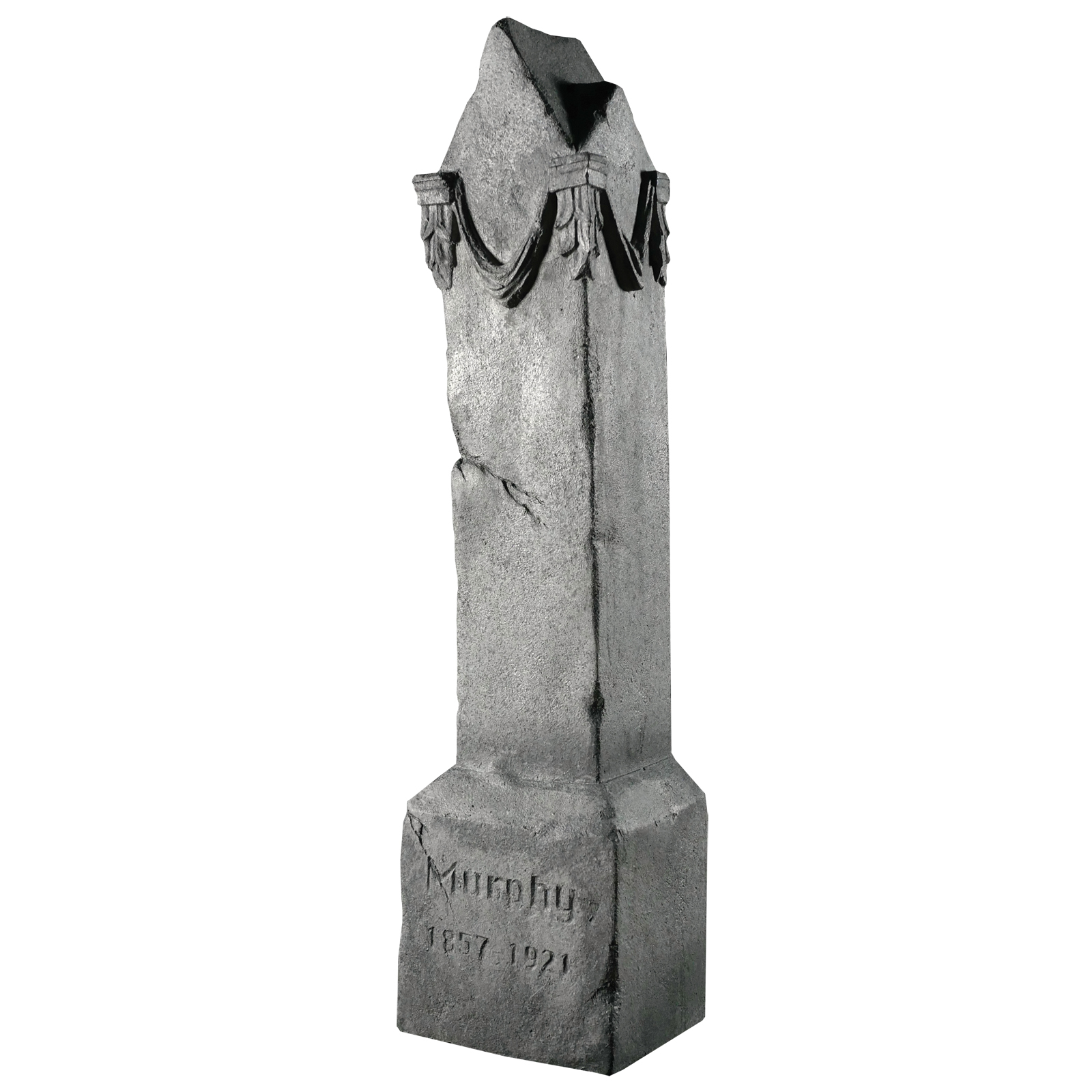 Image of DISTORTIONS UNLIMITED CORP. 4' Graveyard Monument Halloween Props