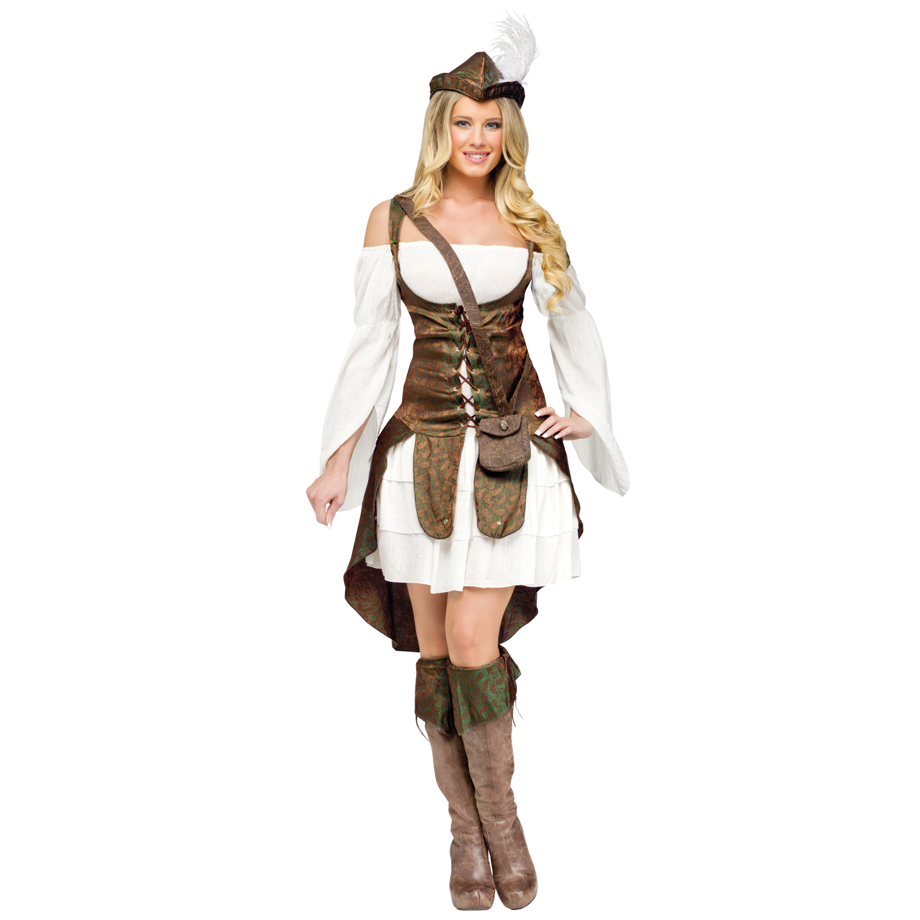 Women's Robin Hood Costume PartNumber: 3ZZVA92421912P MfgPartNumber: FW122864