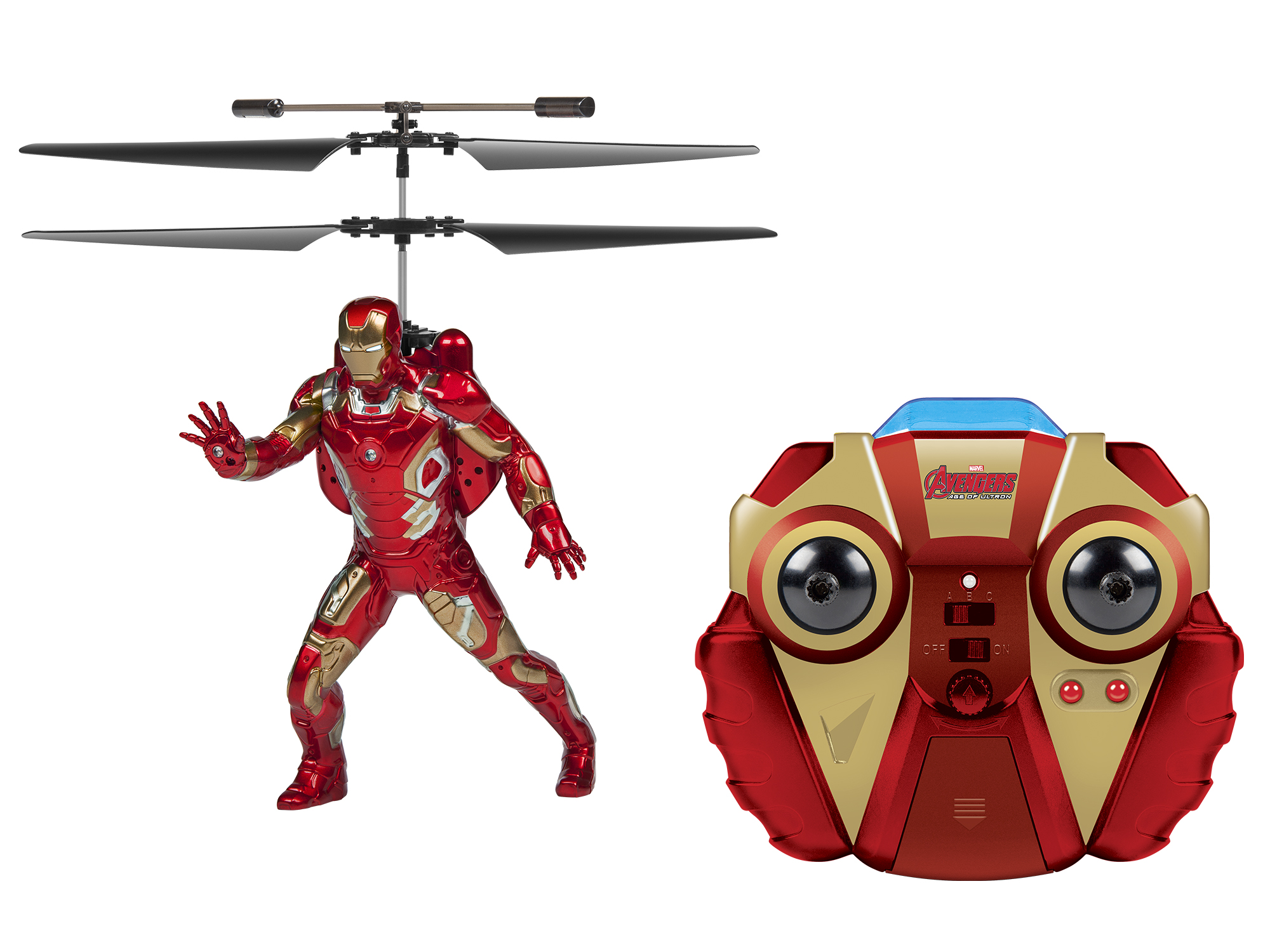 Disney Iron Man 2CH IR RC Helicopter PartNumber: 004W002142129001P KsnValue: 004W002142129001 MfgPartNumber: 33717