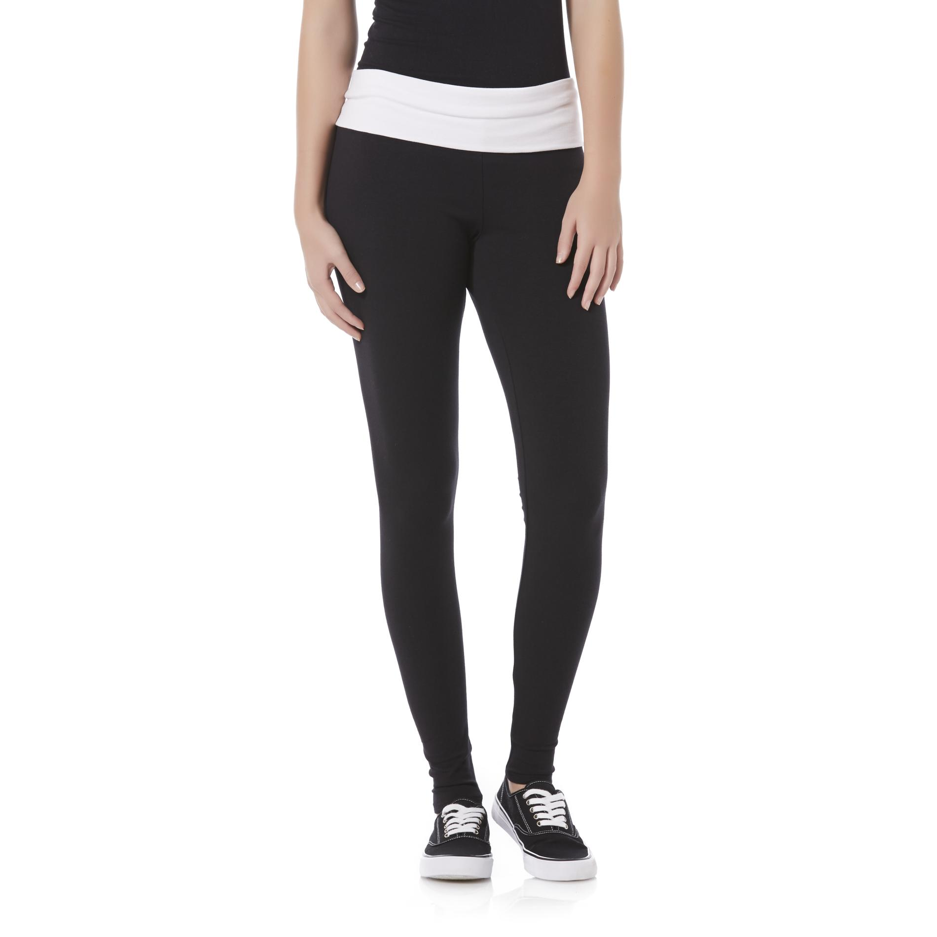 Bongo Junior's Fold-Over Yoga Pants - Ready PartNumber: 002VA84983512P MfgPartNumber: PP11622