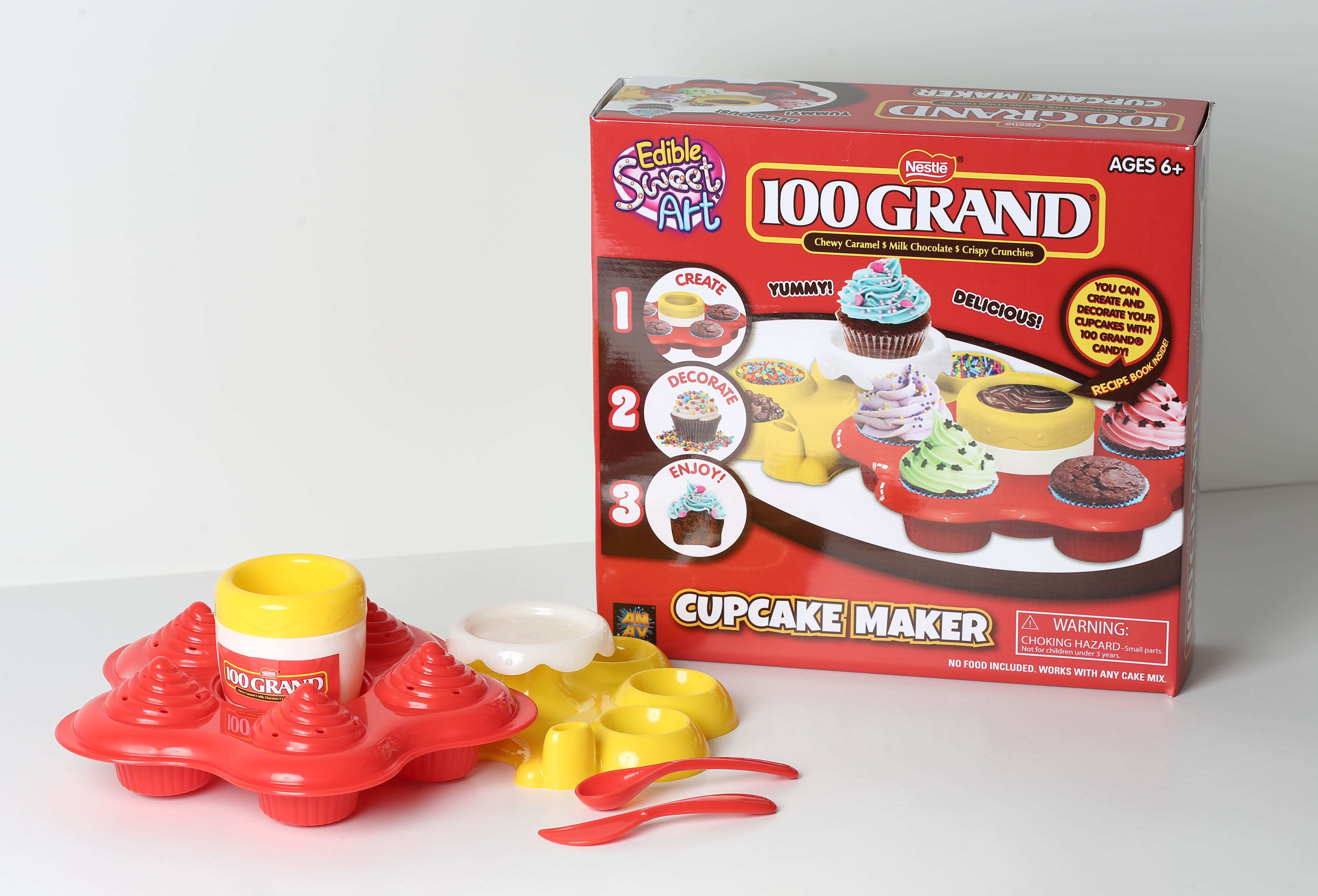 Image of Amav 100 Grand - Cupcake Maker Activity Kit