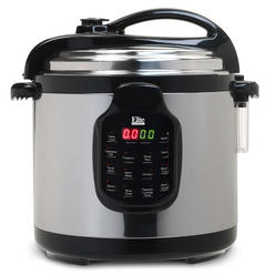 EPC-678SS 6Qt. Electric Stainless Steel Pressure Cooker with Stainless Steel at Kmart.com
