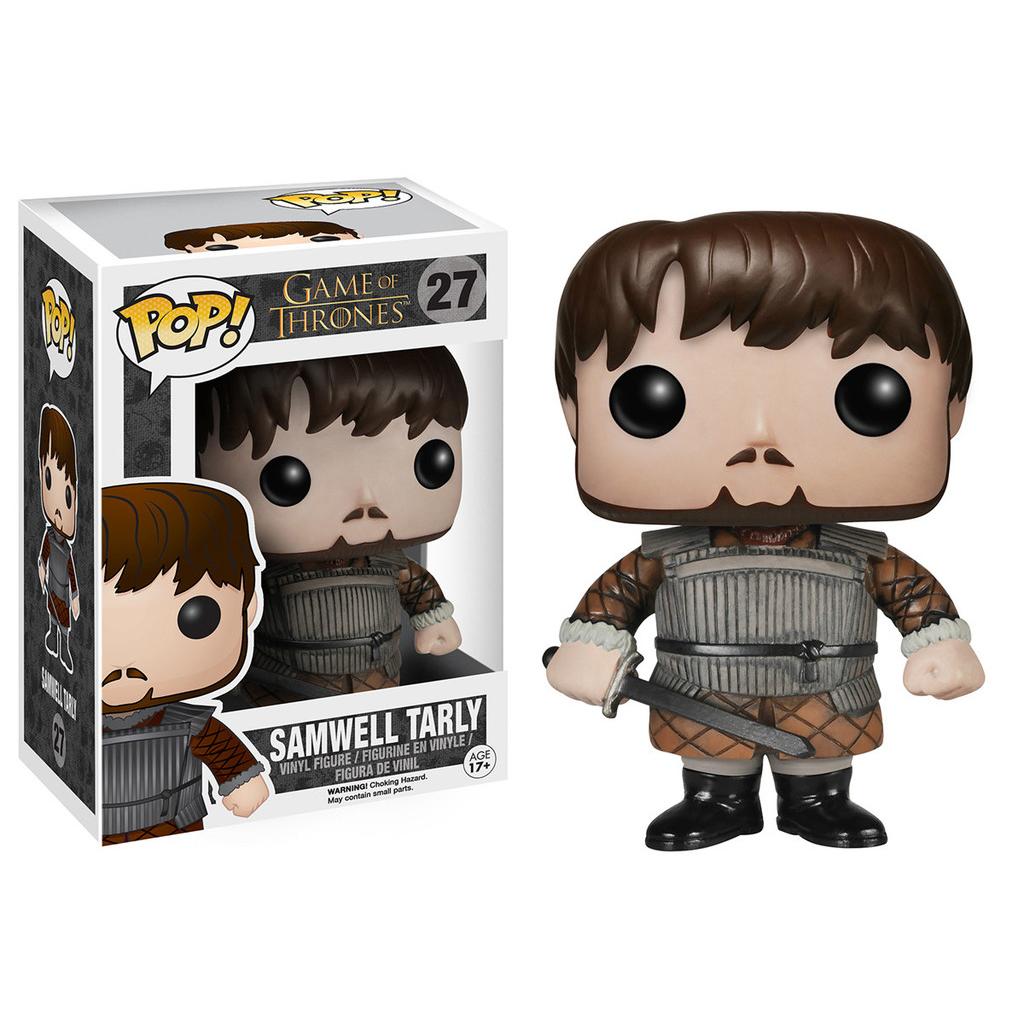 "Game of Thrones Samwell Tarly 3.75"" Vinyl Figure PartNumber: 05205425000P"