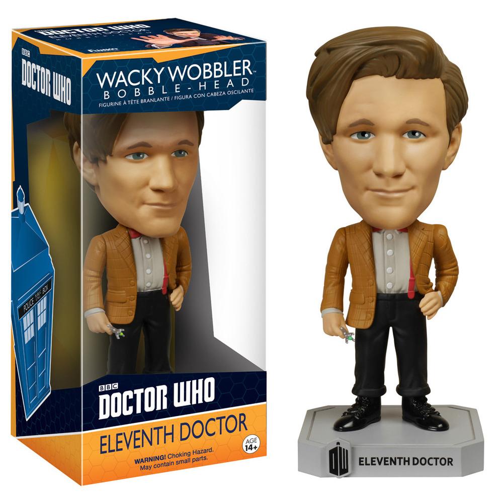 Funko Wacky Wobbler- Doctor Who - Dr #11 4635 PartNumber: 05255160000P KsnValue: 8218158 MfgPartNumber: 4FUN04635