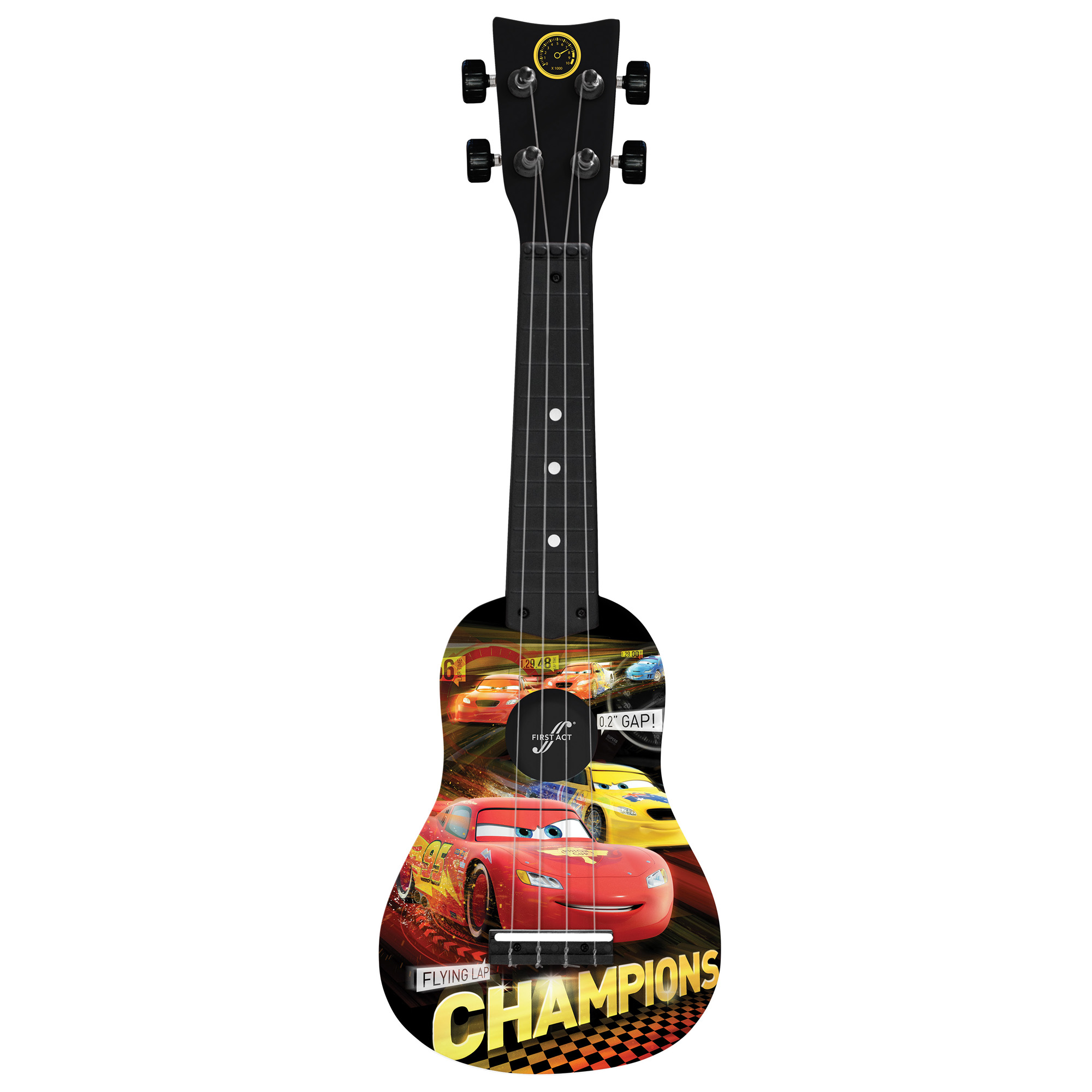upc 607266011025 disney cars mini guitar by first act cr285. Black Bedroom Furniture Sets. Home Design Ideas