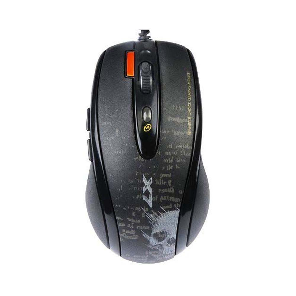 X7 F5 Vtrack Gaming Mouse - Black