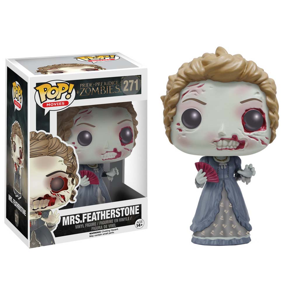 Funko Pop Movies: Pride and Prejudice and Zombies - Featherstone Vinyl Figure PartNumber: 05258266000P